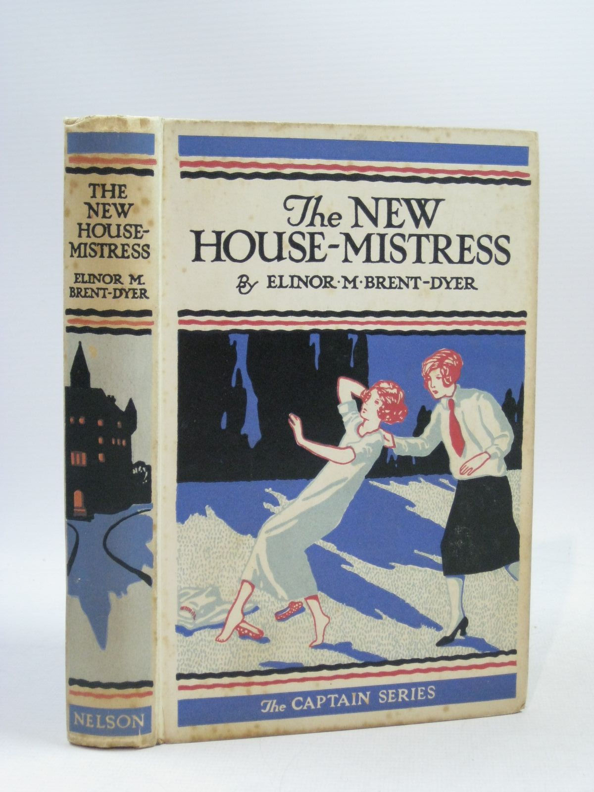 Photo of THE NEW HOUSE MISTRESS written by Brent-Dyer, Elinor M. published by Thomas Nelson and Sons Ltd. (STOCK CODE: 1404159)  for sale by Stella & Rose's Books