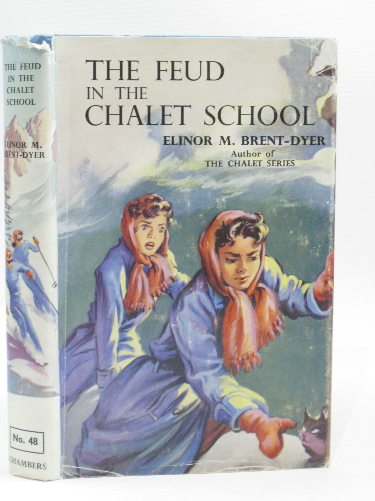 Photo of THE FEUD IN THE CHALET SCHOOL written by Brent-Dyer, Elinor M. illustrated by Brook, D. published by W. & R. Chambers Limited (STOCK CODE: 1404193)  for sale by Stella & Rose's Books