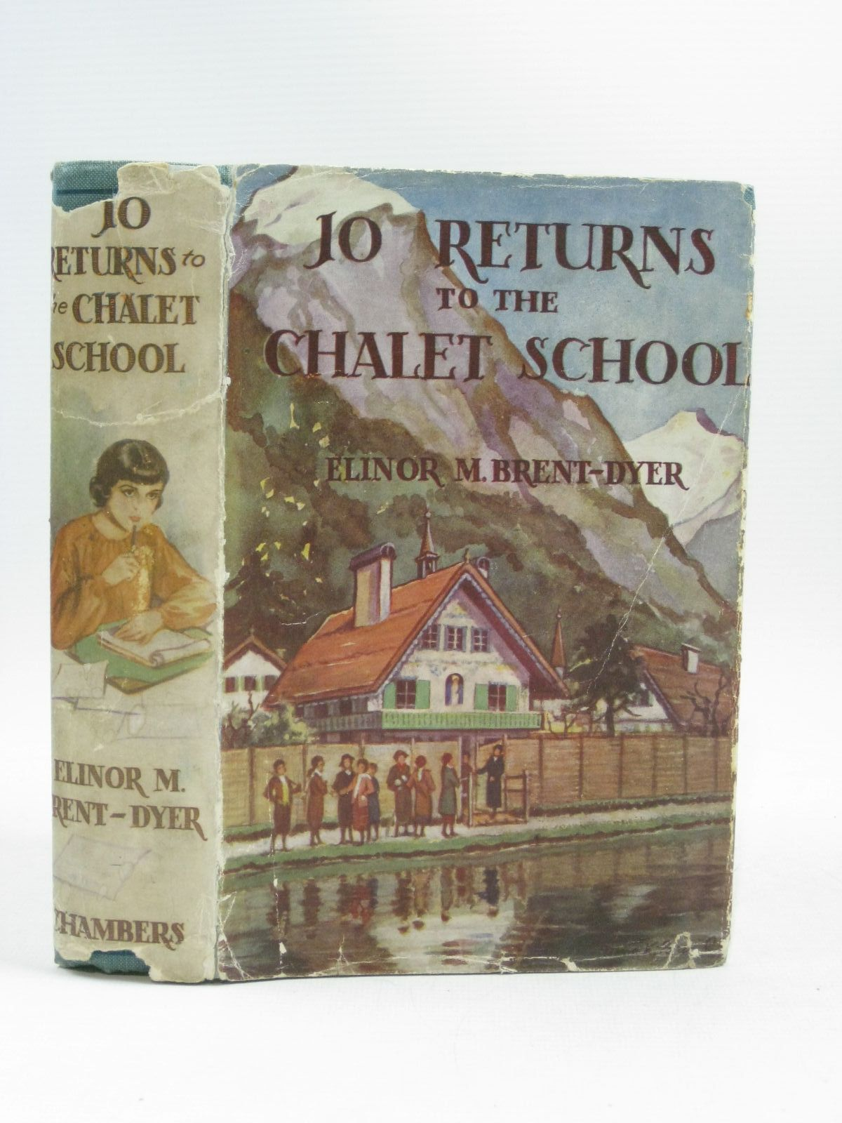 Photo of JO RETURNS TO THE CHALET SCHOOL written by Brent-Dyer, Elinor M. illustrated by Brisley, Nina K. published by W. & R. Chambers Limited (STOCK CODE: 1404286)  for sale by Stella & Rose's Books