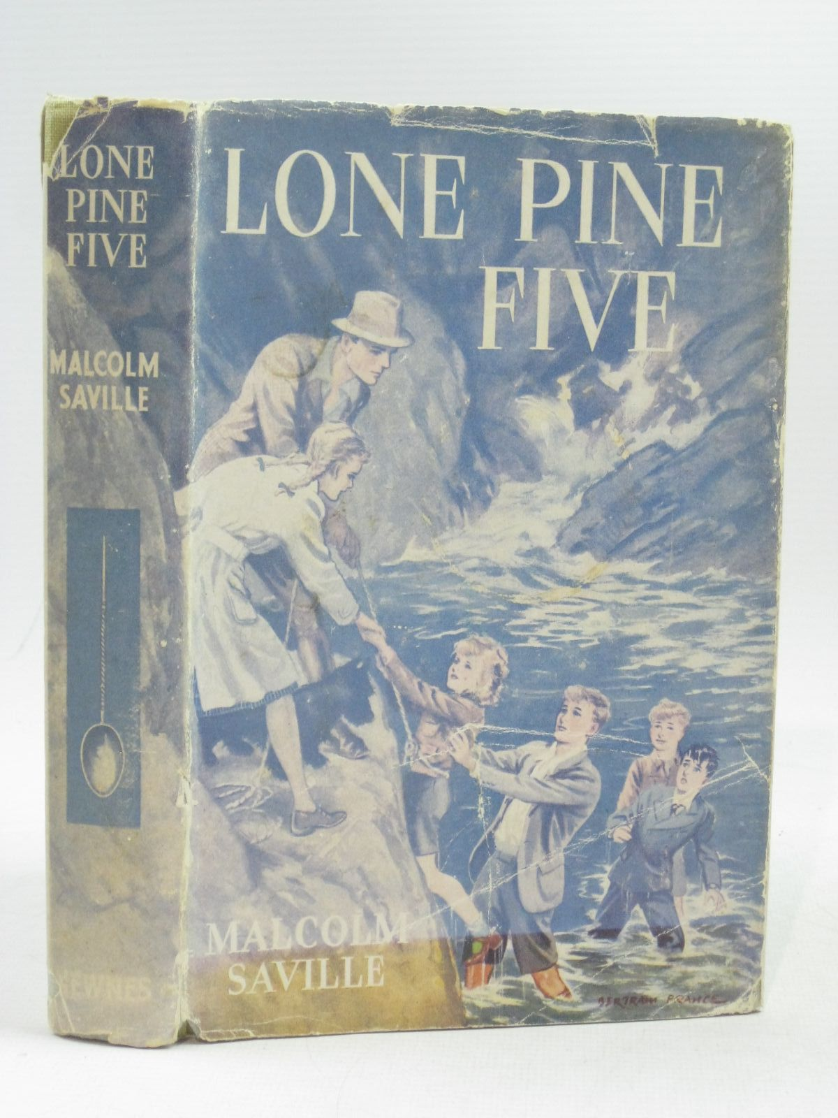 Photo of LONE PINE FIVE written by Saville, Malcolm illustrated by Prance, Bertram published by George Newnes Ltd. (STOCK CODE: 1404317)  for sale by Stella & Rose's Books