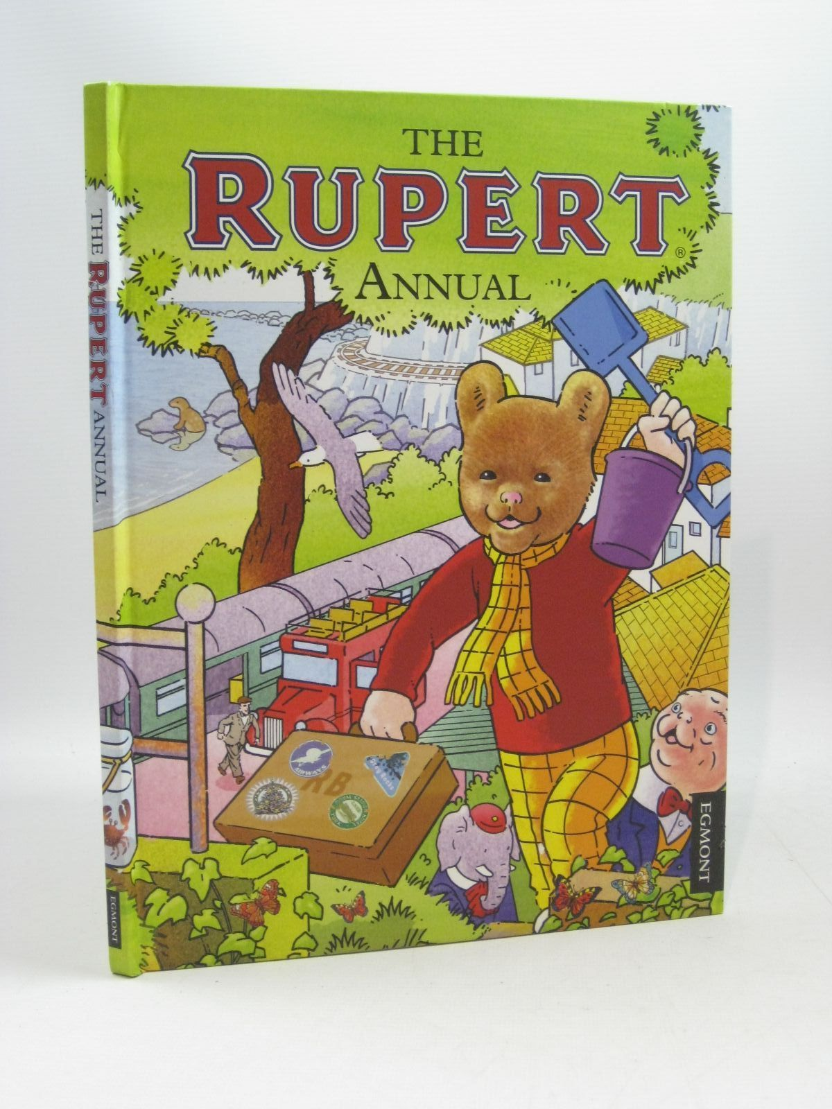 Photo of RUPERT ANNUAL 2012 written by Harwood, Beth<br />Trotter, Stuart illustrated by Trotter, Stuart<br />Bestall, Alfred published by Egmont Uk Limited (STOCK CODE: 1404348)  for sale by Stella & Rose's Books