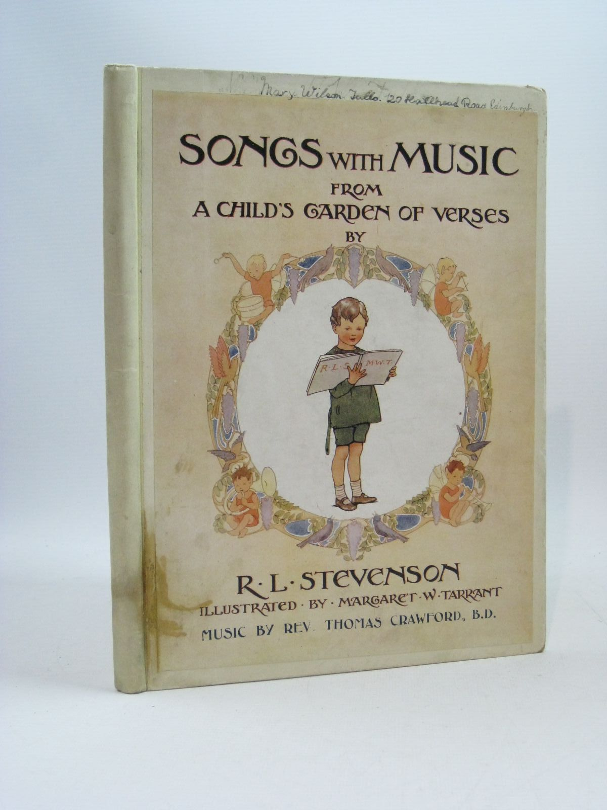 Photo of SONGS WITH MUSIC FROM A CHILD'S GARDEN OF VERSES written by Stevenson, Robert Louis illustrated by Tarrant, Margaret published by T.C. & E.C. Jack (STOCK CODE: 1404349)  for sale by Stella & Rose's Books