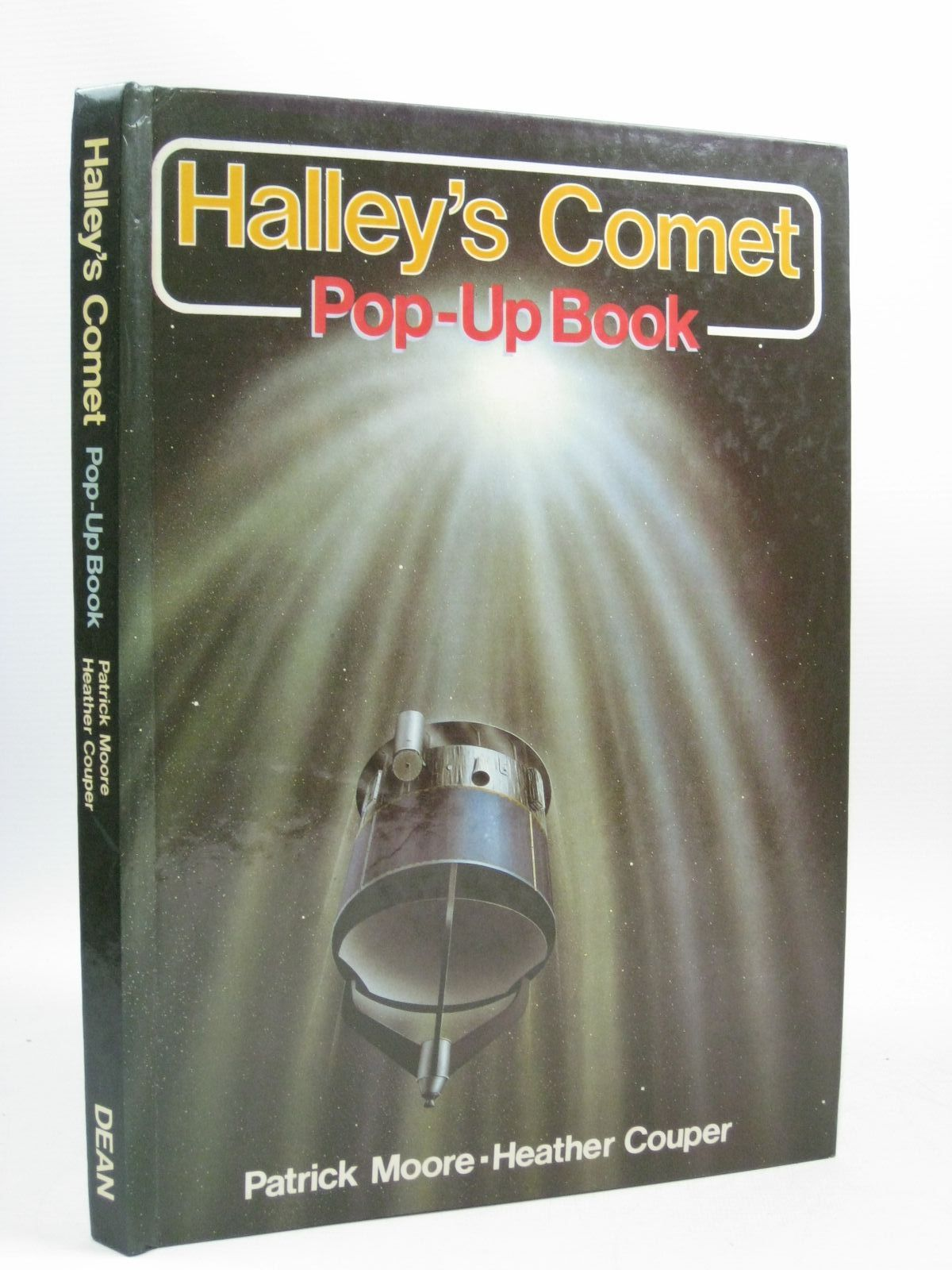Photo of HALLEY'S COMET POP-UP BOOK written by Moore, Patrick<br />Couper, Heather illustrated by Doherty, Paul published by Deans International Publishing (STOCK CODE: 1404364)  for sale by Stella & Rose's Books