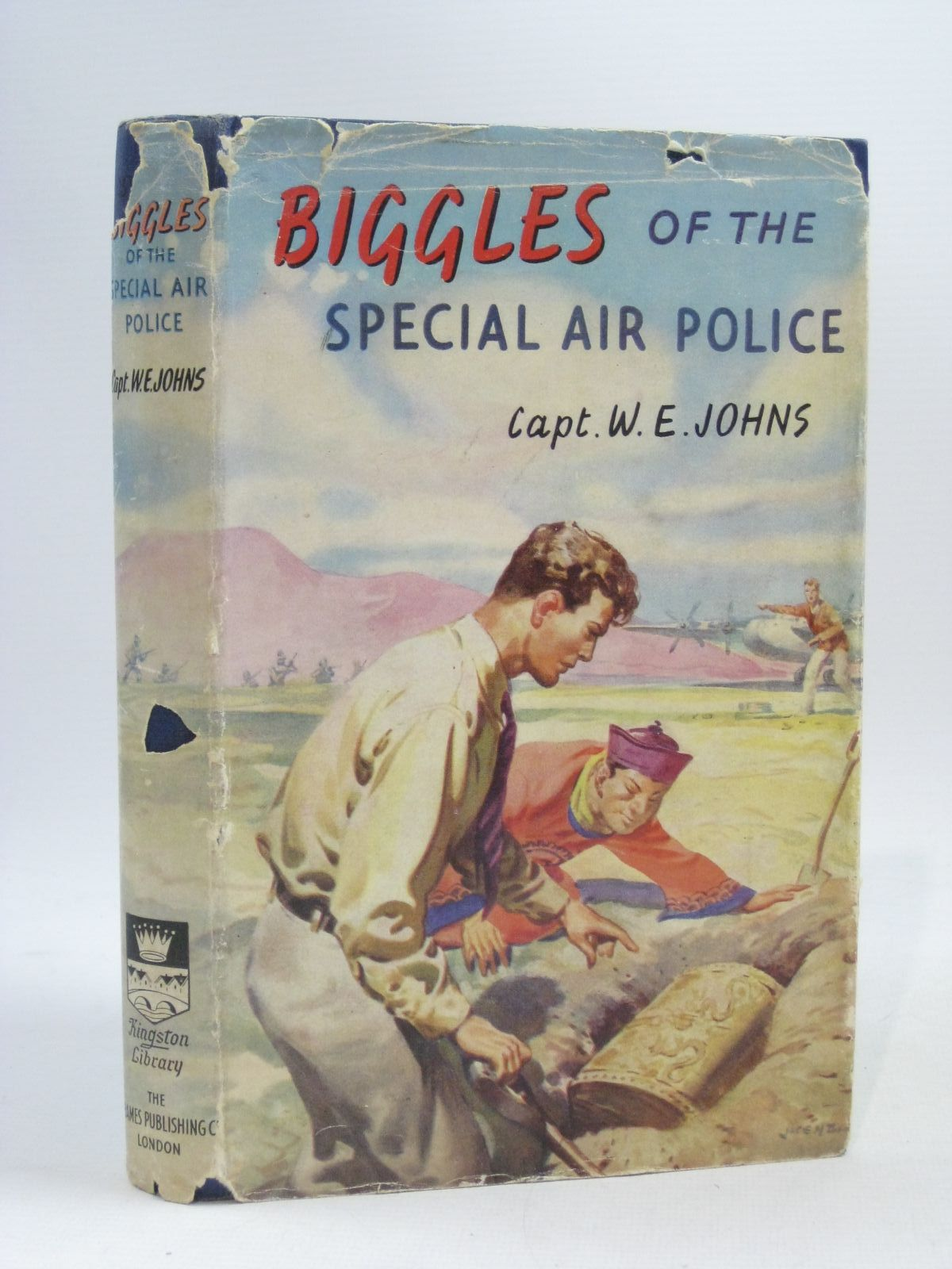 Photo of BIGGLES OF THE SPECIAL AIR POLICE written by Johns, W.E. published by The Thames Publishing Co. (STOCK CODE: 1404371)  for sale by Stella & Rose's Books