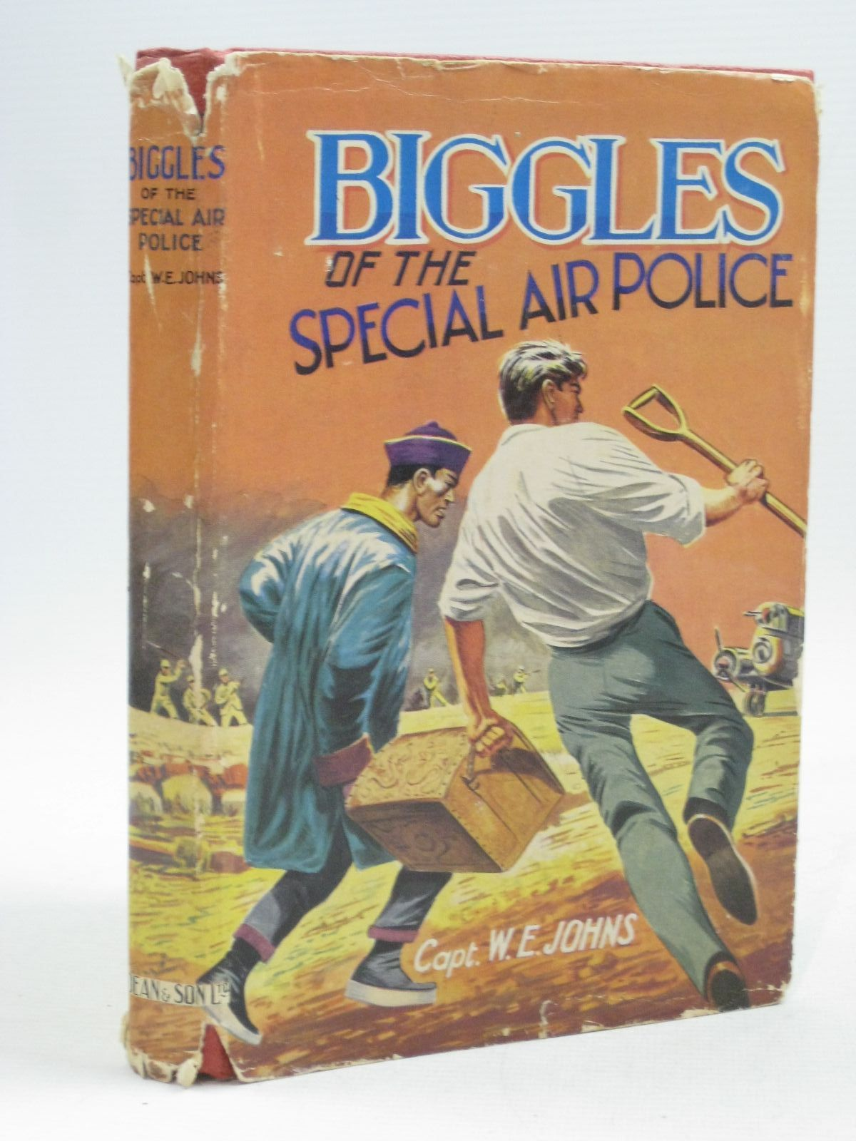 Photo of BIGGLES OF THE SPECIAL AIR POLICE written by Johns, W.E. published by Dean & Son Ltd. (STOCK CODE: 1404385)  for sale by Stella & Rose's Books