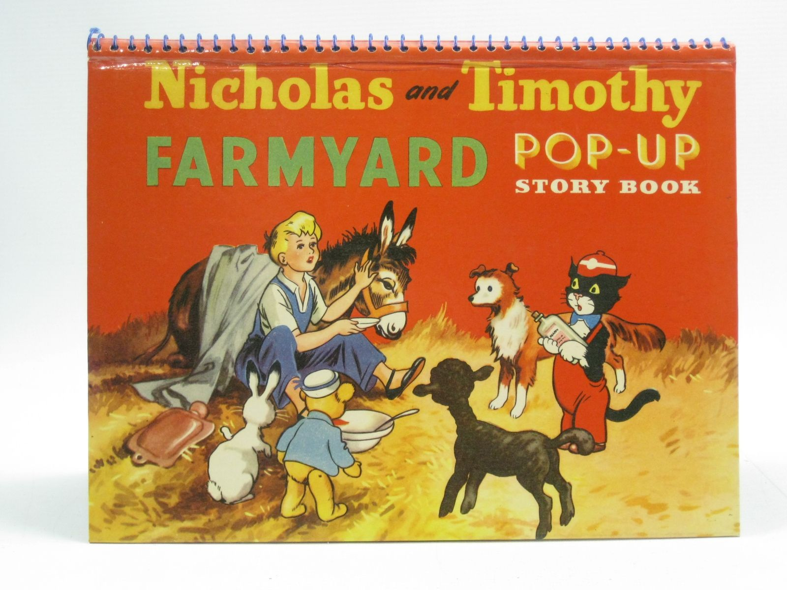 Photo of NICHOLAS AND TIMOTHY FARMYARD POP-UP STORY BOOK written by Styles, Kitty published by Sampson Low (STOCK CODE: 1404434)  for sale by Stella & Rose's Books