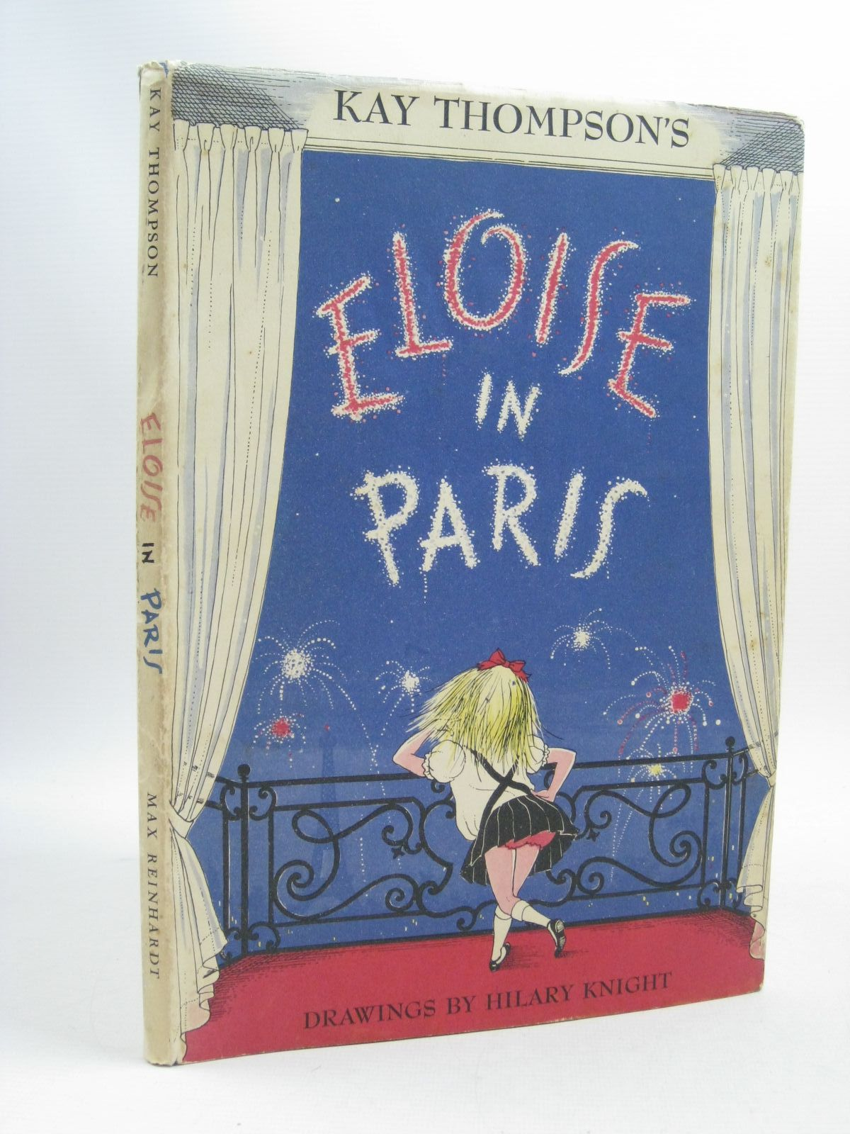 Photo of ELOISE IN PARIS written by Thompson, Kay illustrated by Knight, Hilary published by Max Reinhardt (STOCK CODE: 1404470)  for sale by Stella & Rose's Books