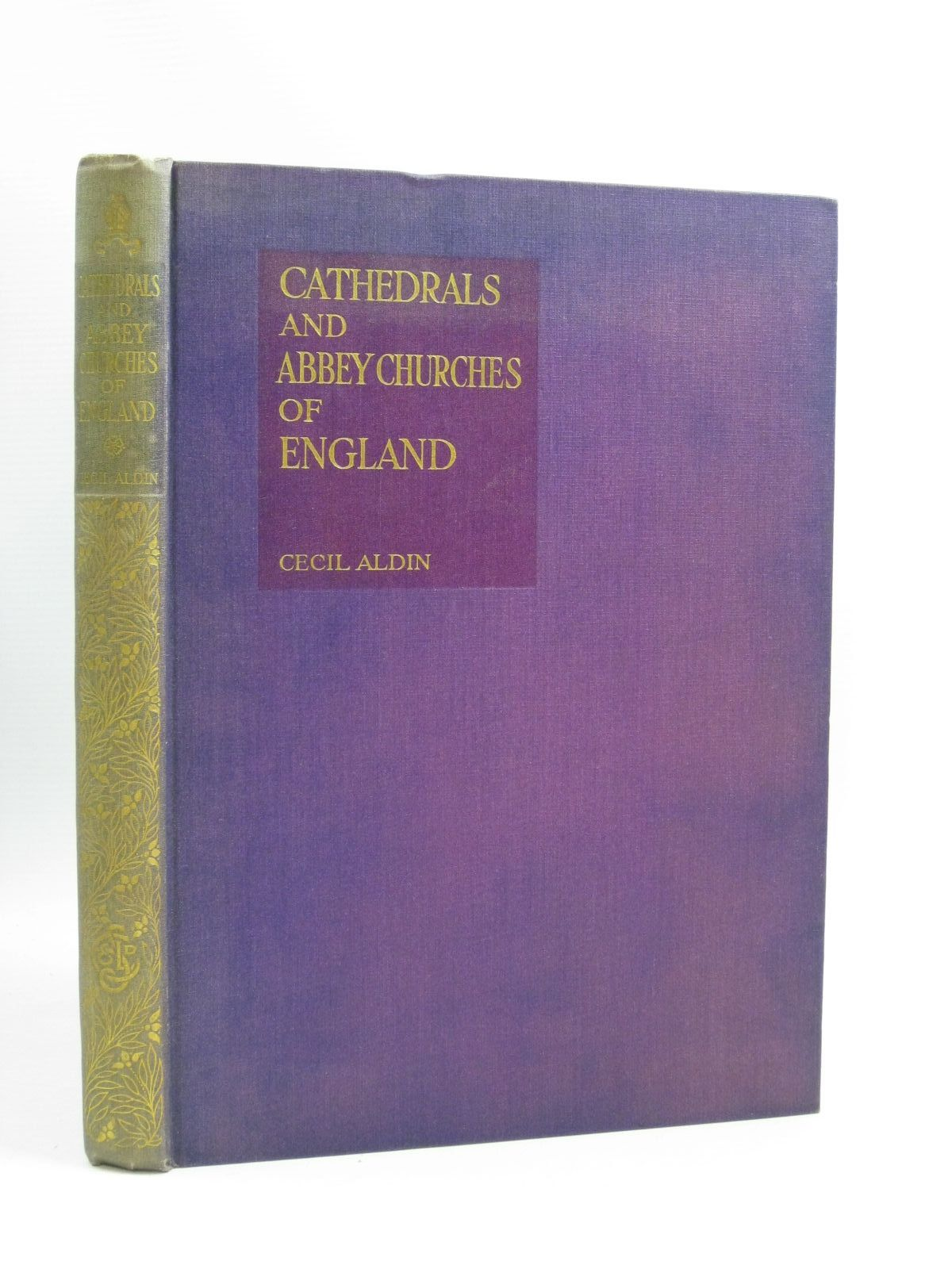 Photo of CATHEDRALS AND ABBEY CHURCHES OF ENGLAND illustrated by Aldin, Cecil published by Eyre & Spottiswoode (STOCK CODE: 1404475)  for sale by Stella & Rose's Books