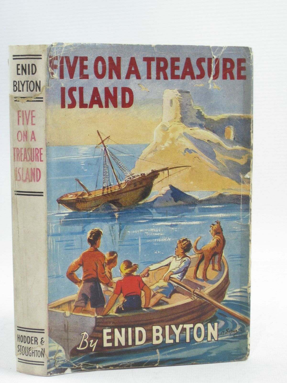 Photo of FIVE ON A TREASURE ISLAND- Stock Number: 1404490