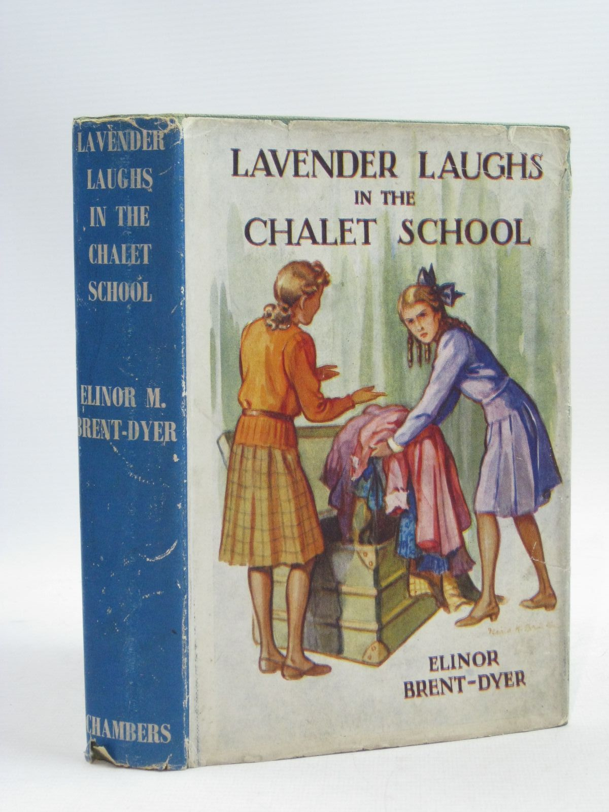 Photo of LAVENDER LAUGHS IN THE CHALET SCHOOL written by Brent-Dyer, Elinor M. published by W. & R. Chambers Limited (STOCK CODE: 1404494)  for sale by Stella & Rose's Books