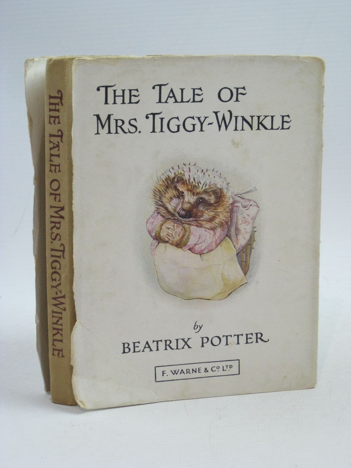 Photo of THE TALE OF MRS. TIGGY-WINKLE written by Potter, Beatrix illustrated by Potter, Beatrix published by Frederick Warne & Co Ltd. (STOCK CODE: 1404513)  for sale by Stella & Rose's Books