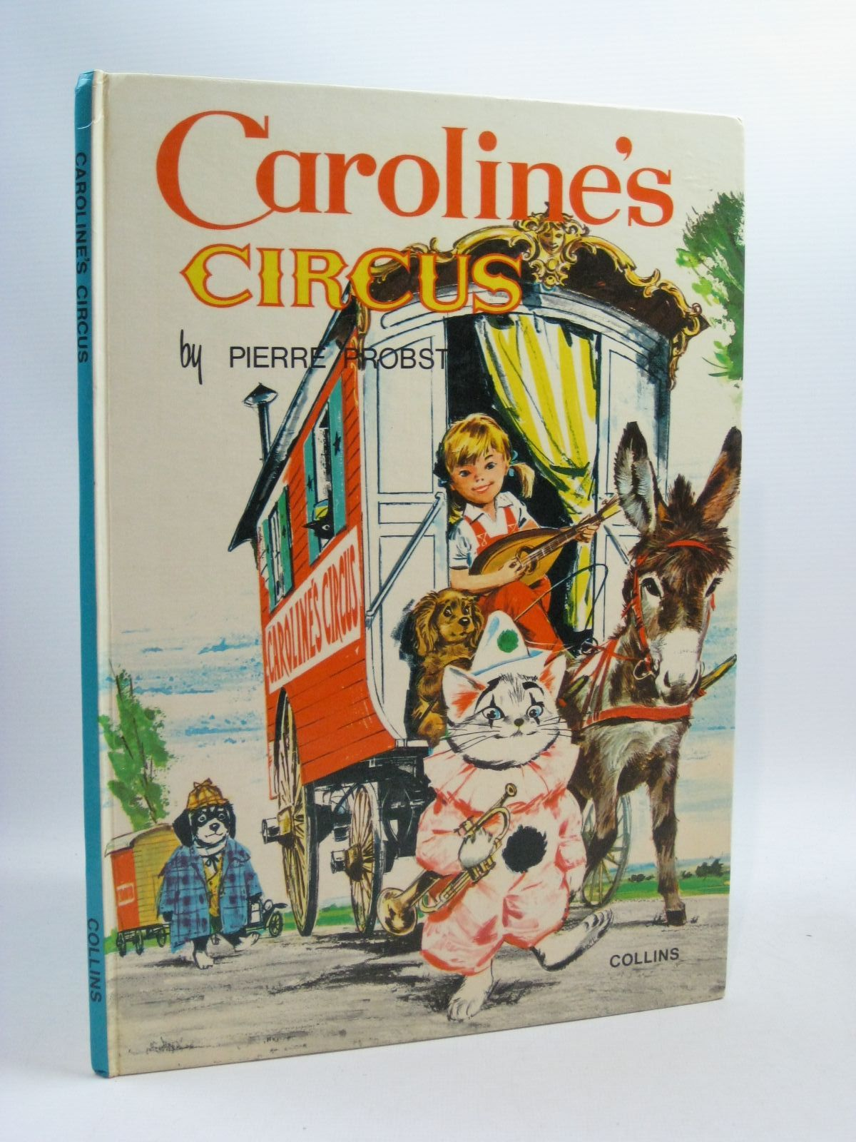 Photo of CAROLINE'S CIRCUS written by Carruth, Jane illustrated by Probst, Peter published by Collins (STOCK CODE: 1404523)  for sale by Stella & Rose's Books