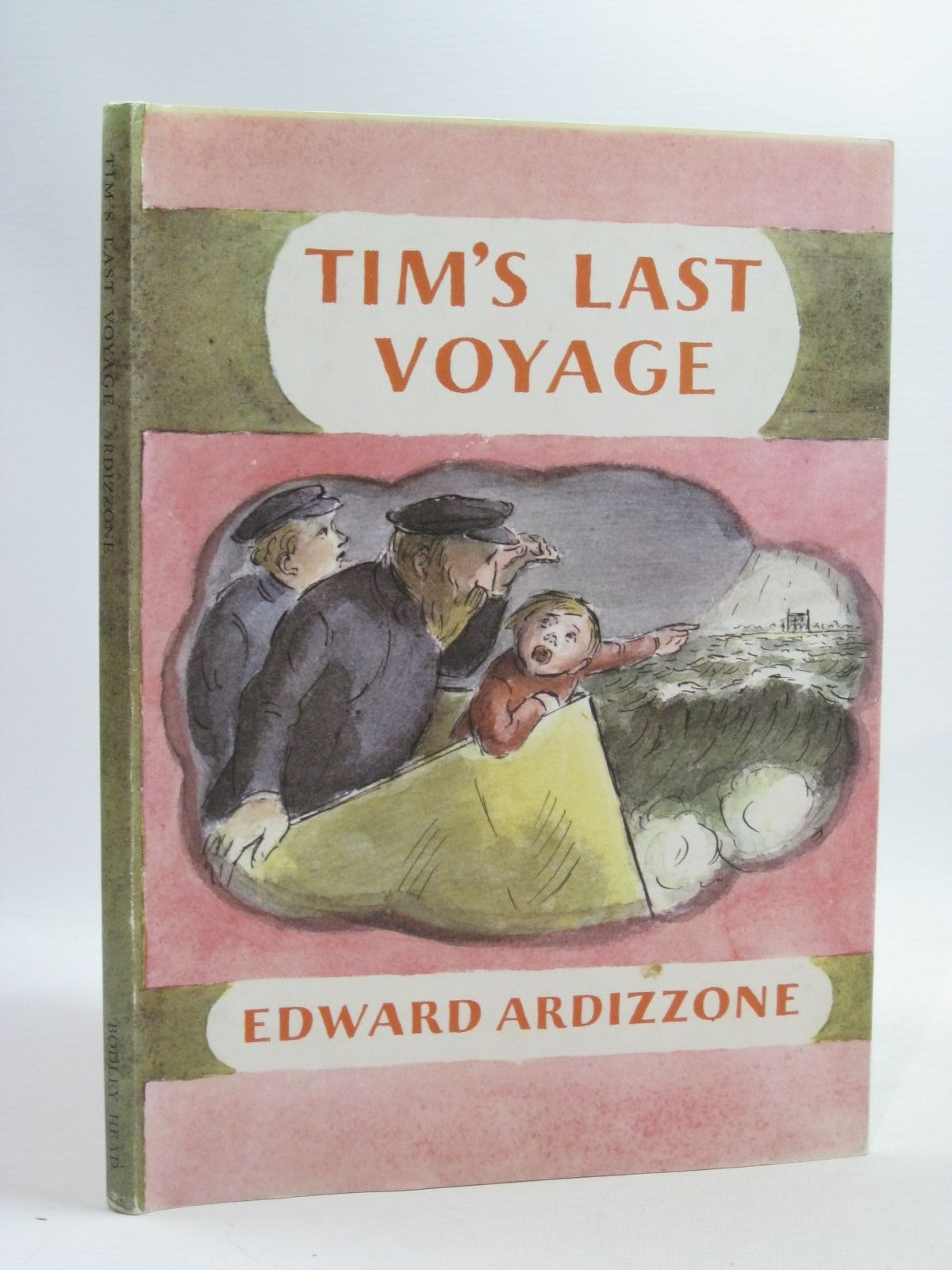 Photo of TIM'S LAST VOYAGE written by Ardizzone, Edward illustrated by Ardizzone, Edward published by The Bodley Head (STOCK CODE: 1404530)  for sale by Stella & Rose's Books