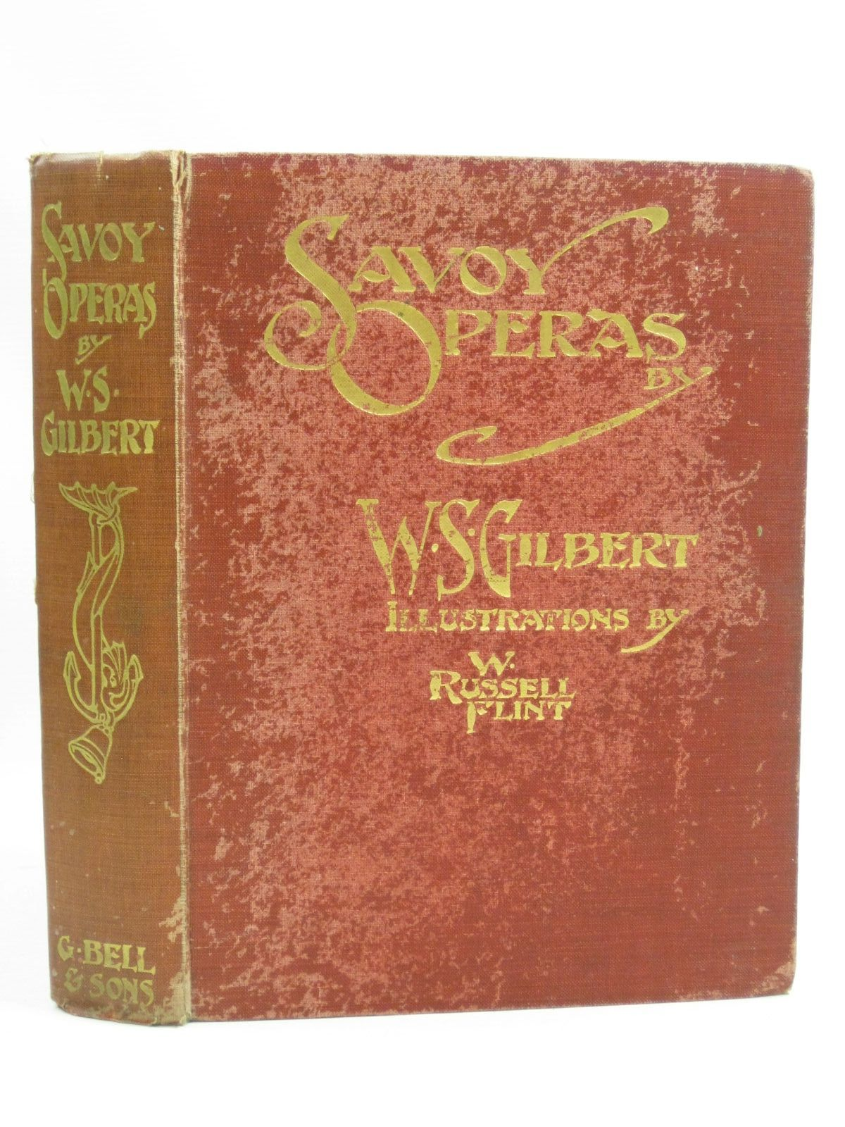 Photo of SAVOY OPERAS written by Gilbert, W.S. illustrated by Flint, William Russell published by George Bell & Sons (STOCK CODE: 1404534)  for sale by Stella & Rose's Books