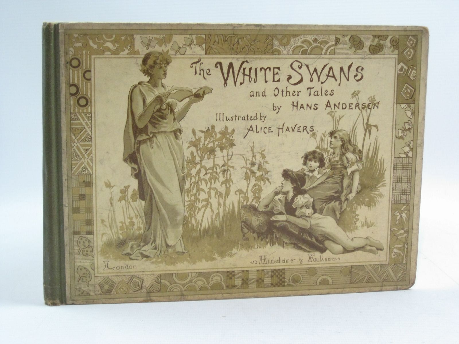 Photo of THE WHITE SWANS AND OTHER TALES written by Andersen, Hans Christian illustrated by Havers, Alice published by Hildesheimer & Faulkner (STOCK CODE: 1404572)  for sale by Stella & Rose's Books