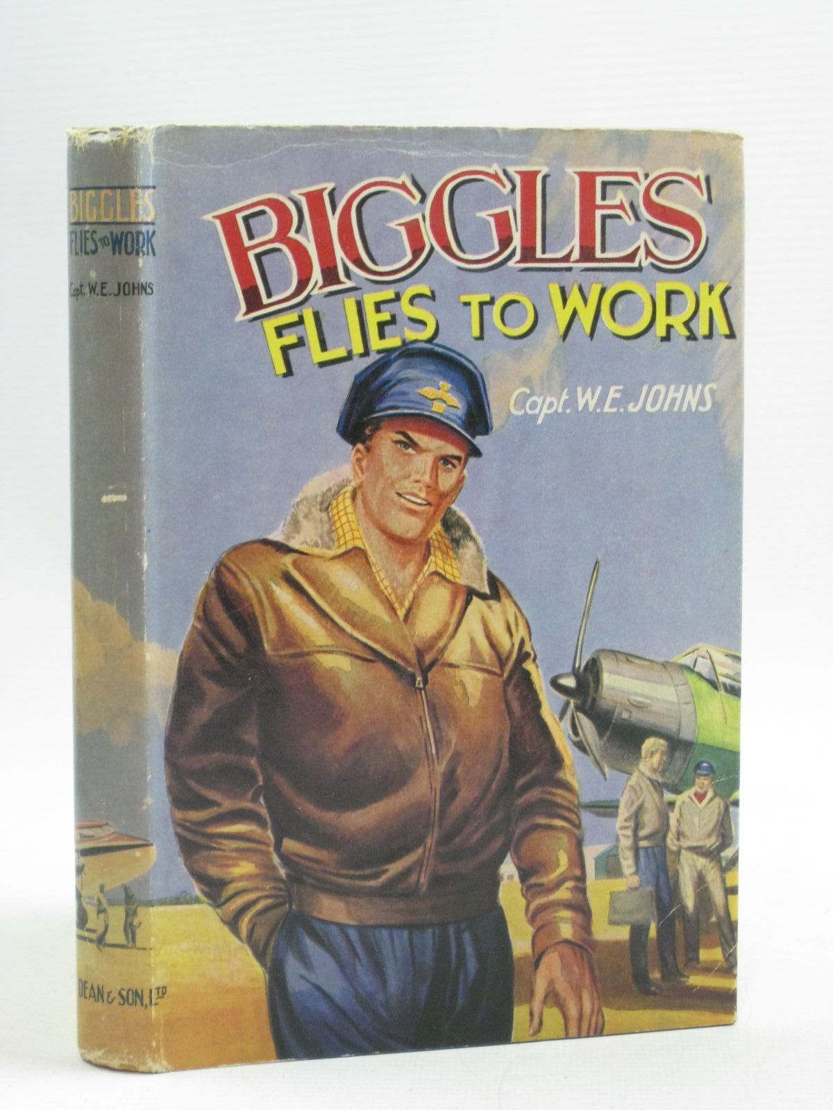 Photo of BIGGLES FLIES TO WORK written by Johns, W.E. published by Dean & Son Ltd. (STOCK CODE: 1404577)  for sale by Stella & Rose's Books