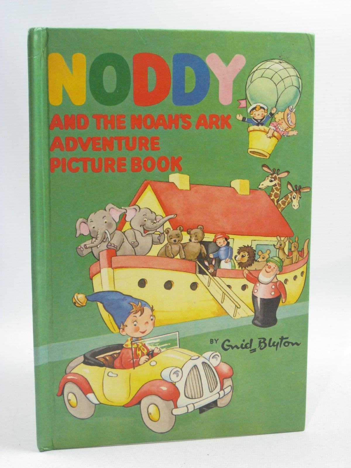 Photo of NODDY AND THE NOAH'S ARK ADVENTURE PICTURE BOOK written by Blyton, Enid published by Sampson Low, Marston & Co. Ltd., Dennis Dobson Ltd. (STOCK CODE: 1404590)  for sale by Stella & Rose's Books
