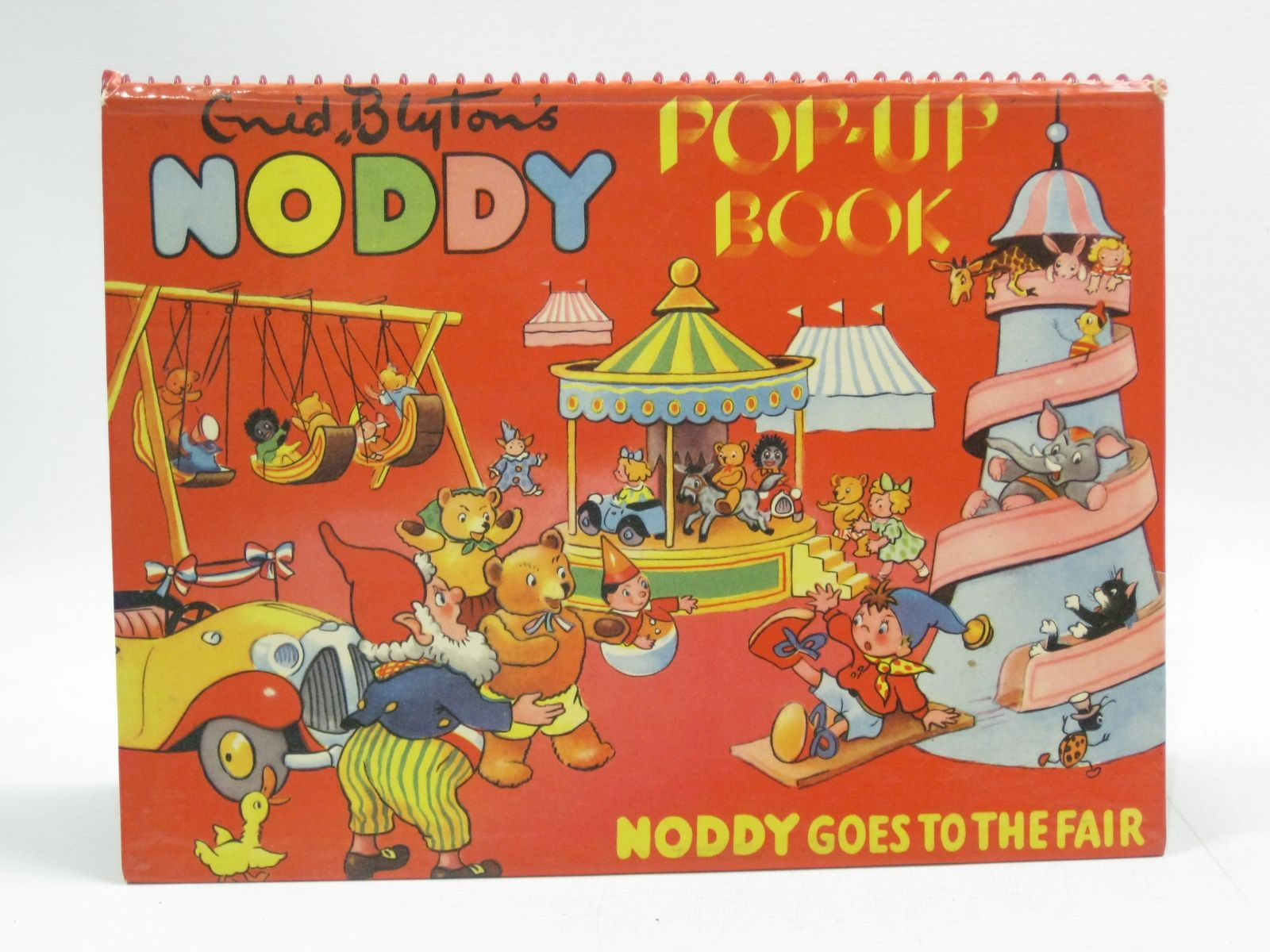 Photo of NODDY POP-UP BOOK NODDY GOES TO THE FAIR written by Blyton, Enid published by Sampson Low, Marston & Co. Ltd., C.A. Publications, Ltd. (STOCK CODE: 1404599)  for sale by Stella & Rose's Books