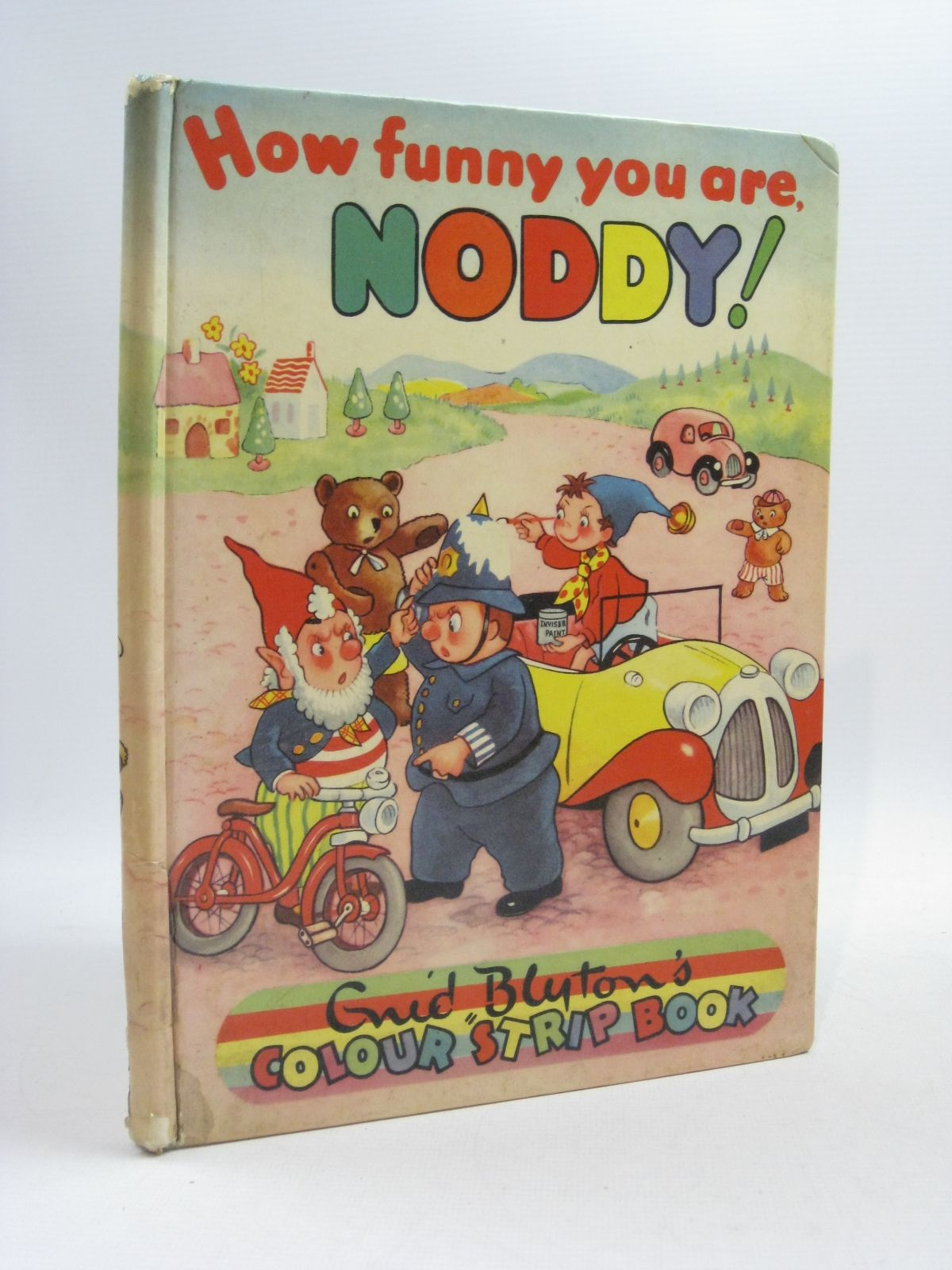 Photo of HOW FUNNY YOU ARE NODDY! written by Blyton, Enid published by Sampson Low, Marston & Co. Ltd., C.A. Publications Ltd. (STOCK CODE: 1404606)  for sale by Stella & Rose's Books