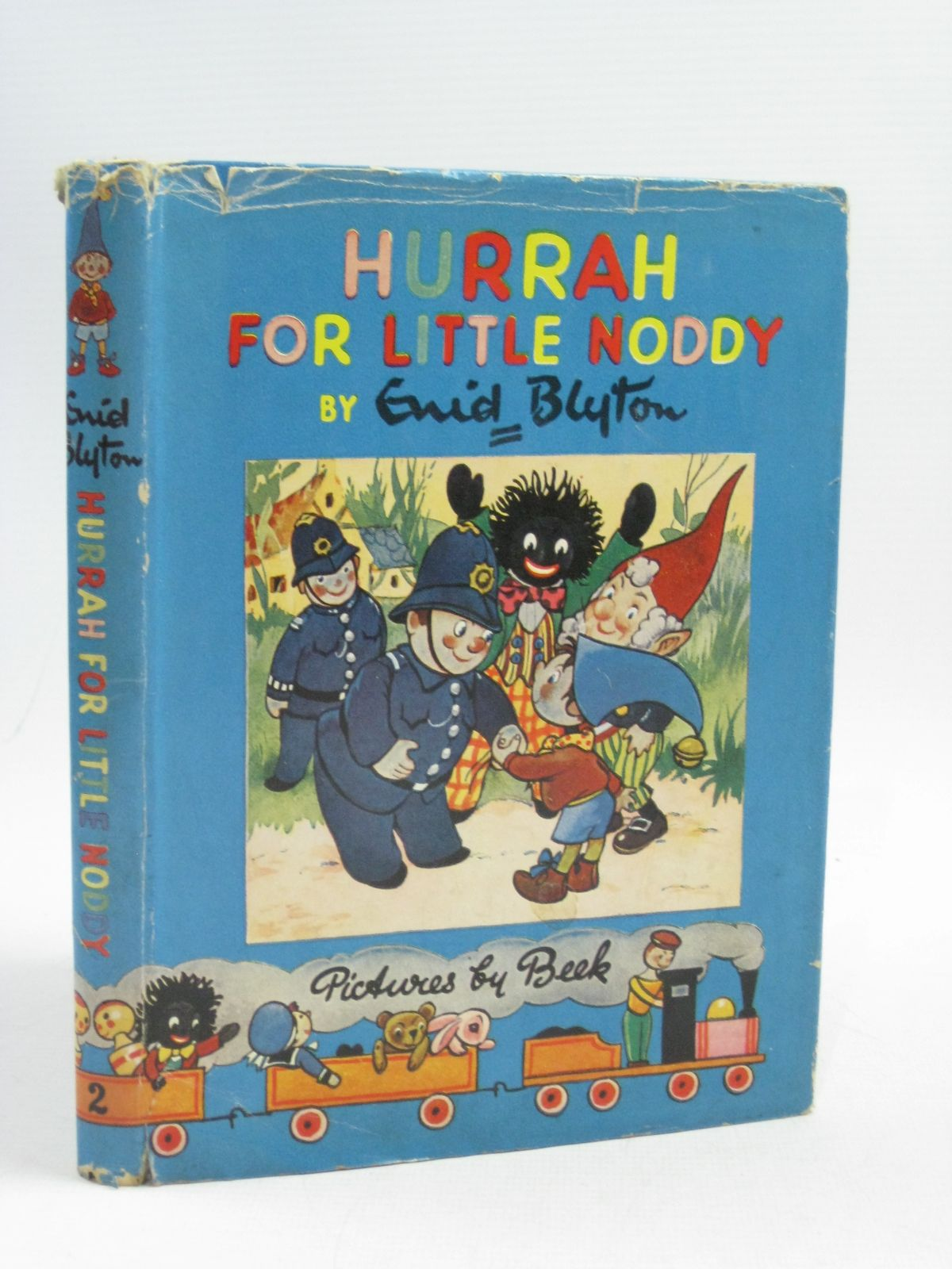 Photo of HURRAH FOR LITTLE NODDY written by Blyton, Enid illustrated by Beek,  published by Sampson Low, Marston & Co. Ltd. (STOCK CODE: 1404623)  for sale by Stella & Rose's Books