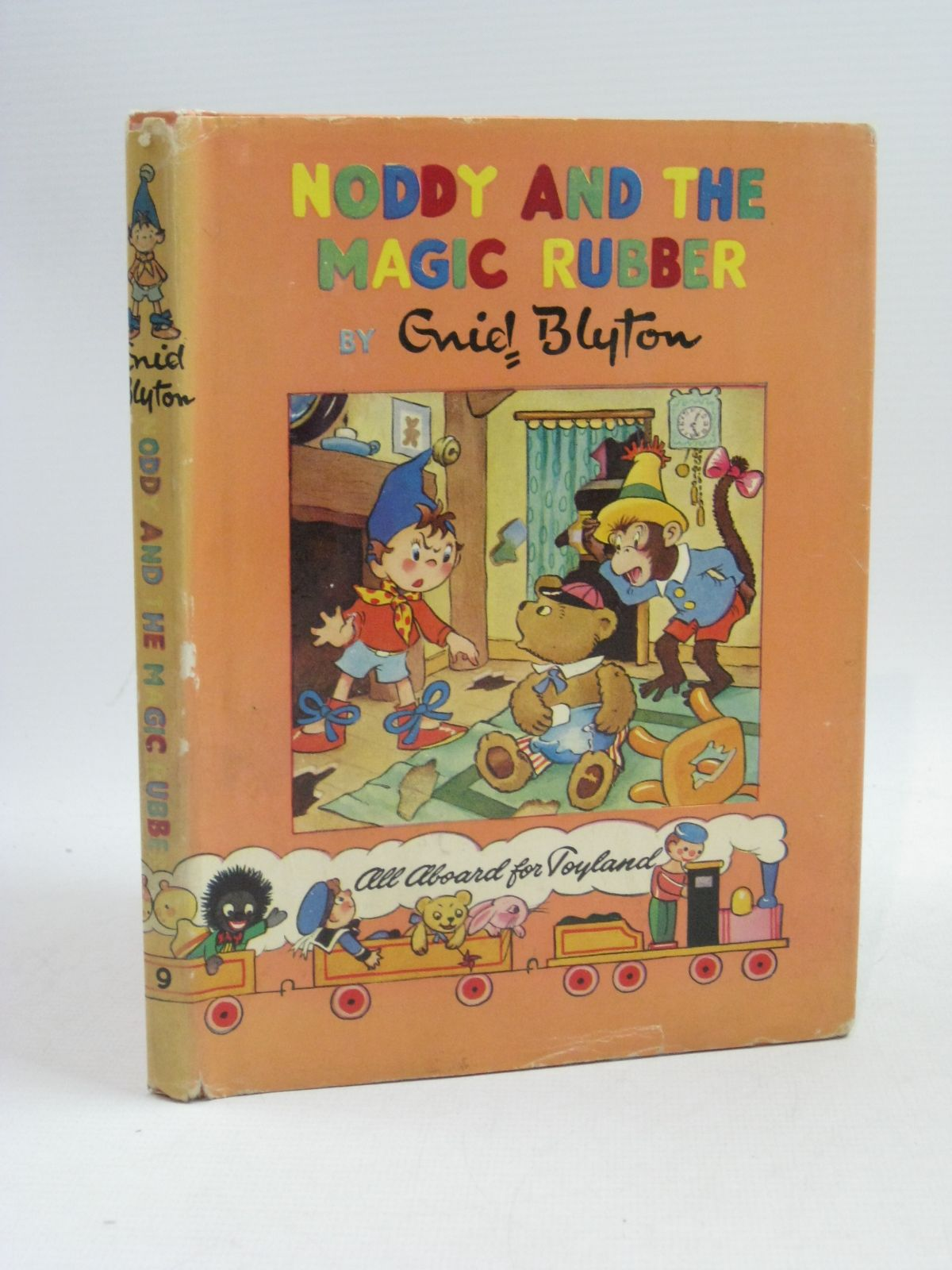 Photo of NODDY AND THE MAGIC RUBBER written by Blyton, Enid published by Sampson Low, Marston & Co. Ltd., Pleiades Books Ltd. (STOCK CODE: 1404628)  for sale by Stella & Rose's Books