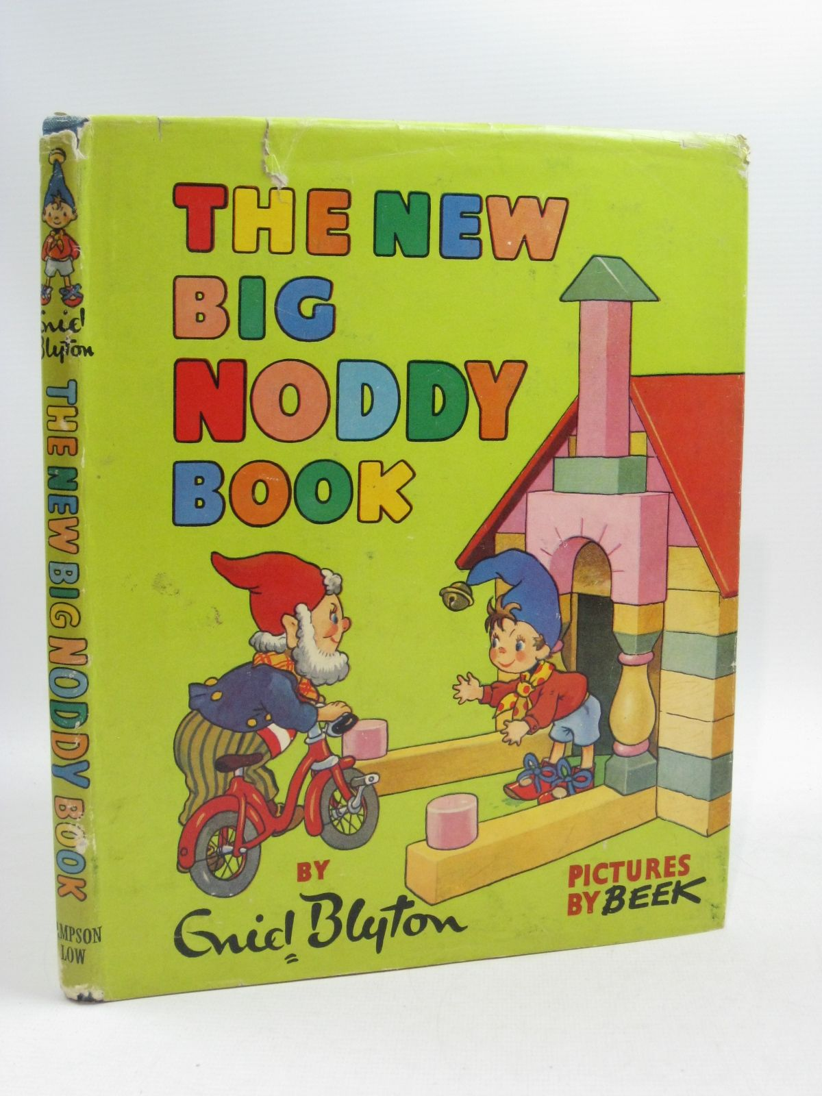 Photo of THE NEW BIG NODDY BOOK written by Blyton, Enid illustrated by Beek,  published by Sampson Low, Marston & Co. Ltd. (STOCK CODE: 1404639)  for sale by Stella & Rose's Books