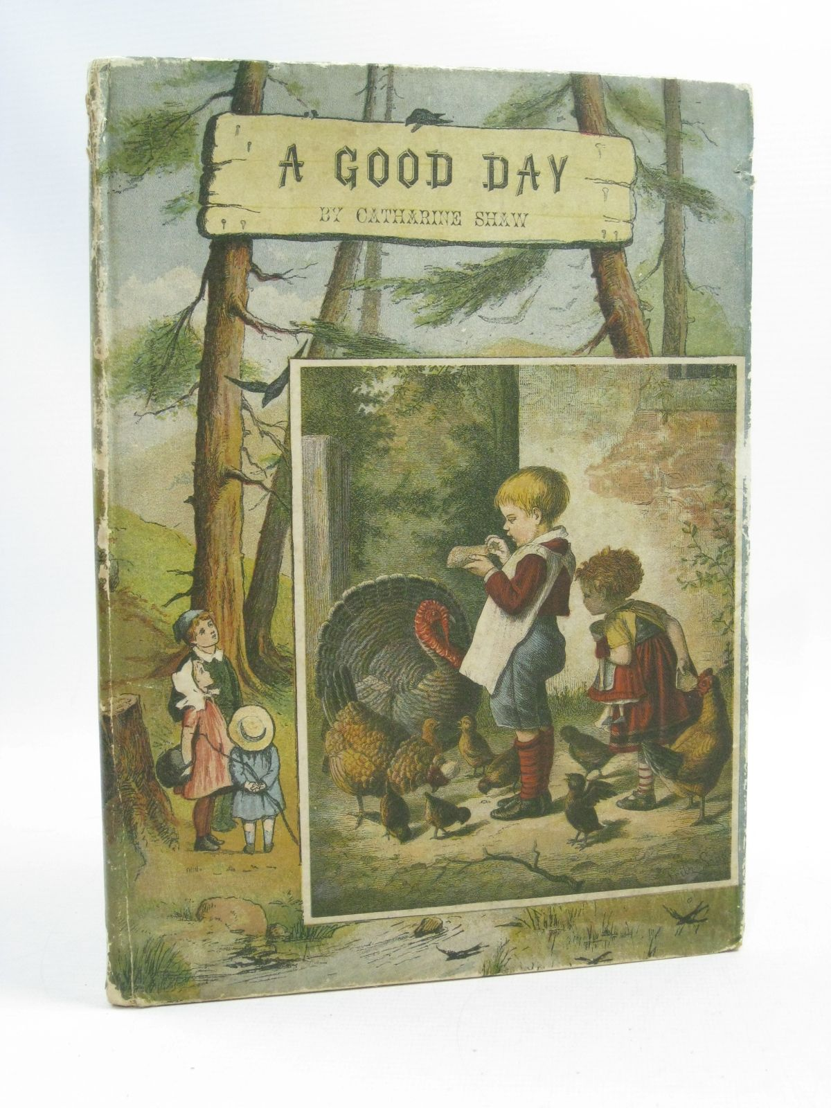 Photo of A GOOD DAY. GOOD MORNING! GOOD AFTERNOON! GOOD NIGHT! written by Shaw, Catharine published by John F. Shaw & Co Ltd. (STOCK CODE: 1404656)  for sale by Stella & Rose's Books