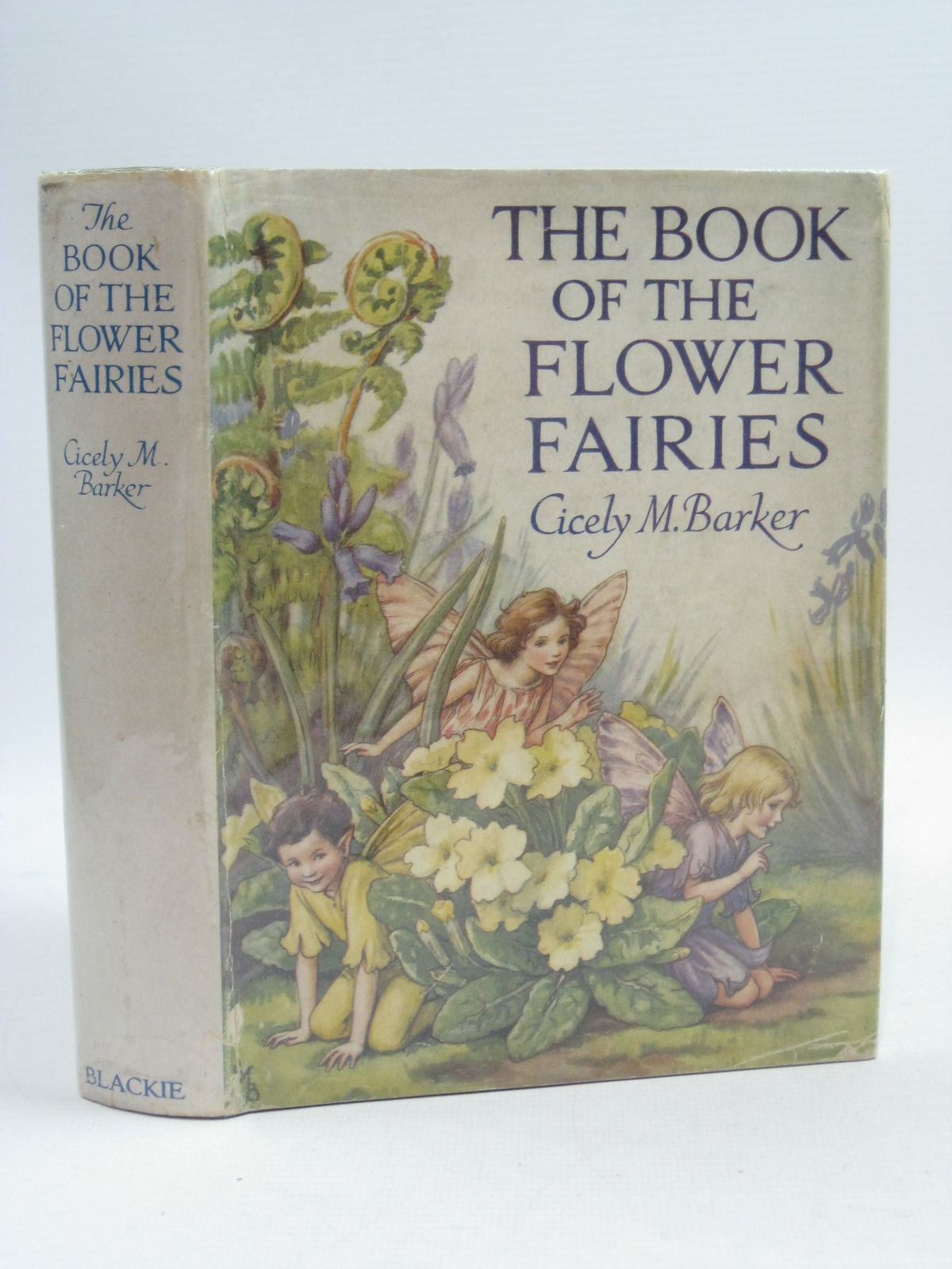 Photo of THE BOOK OF THE FLOWER FAIRIES written by Barker, Cicely Mary illustrated by Barker, Cicely Mary published by Blackie & Son Ltd. (STOCK CODE: 1404696)  for sale by Stella & Rose's Books