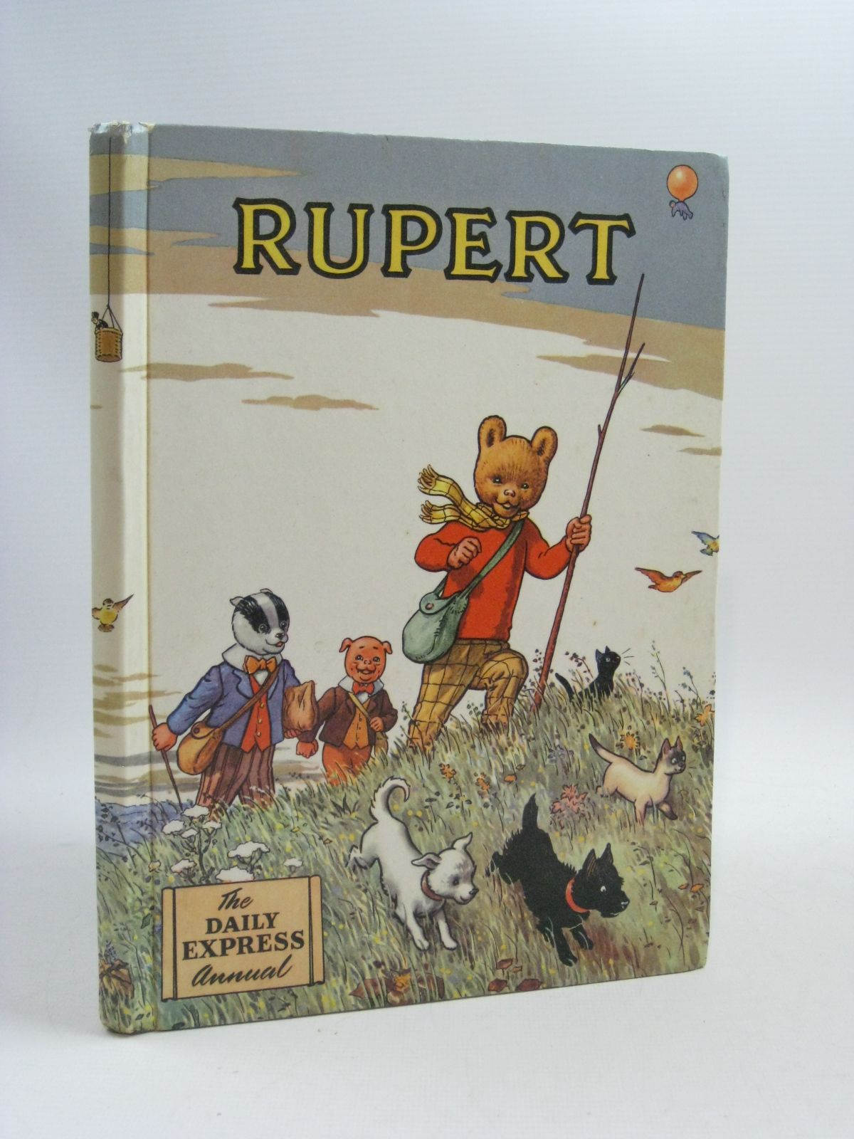 Photo of RUPERT ANNUAL 1955 written by Bestall, Alfred illustrated by Bestall, Alfred published by Daily Express (STOCK CODE: 1404700)  for sale by Stella & Rose's Books