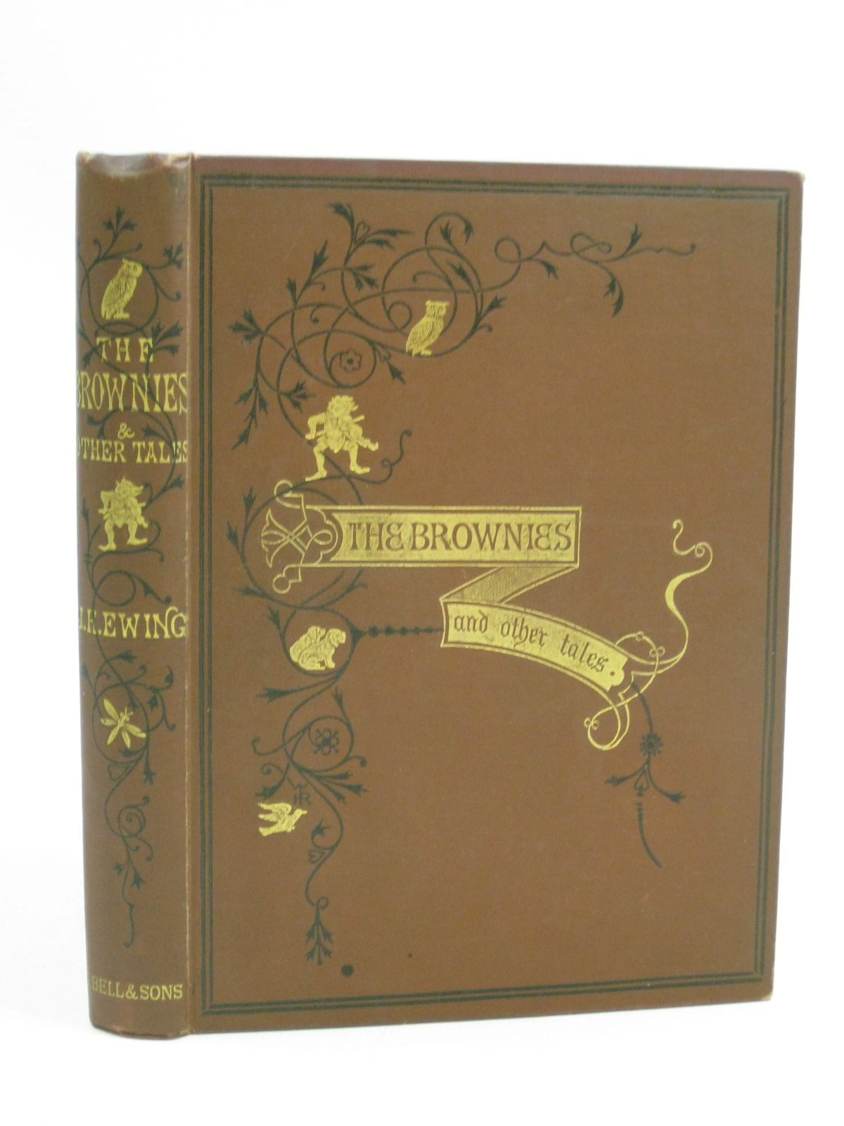 Photo of THE BROWNIES AND OTHER TALES written by Ewing, Juliana Horatia illustrated by Cruikshank, George published by George Bell & Sons (STOCK CODE: 1404706)  for sale by Stella & Rose's Books