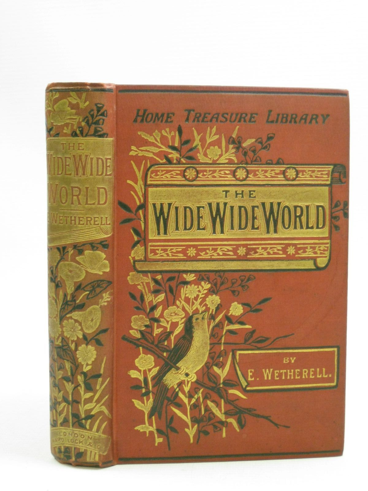 Photo of THE WIDE, WIDE WORLD written by Wetherell, Elizabeth published by Ward, Lock & Bowden Limited (STOCK CODE: 1404745)  for sale by Stella & Rose's Books