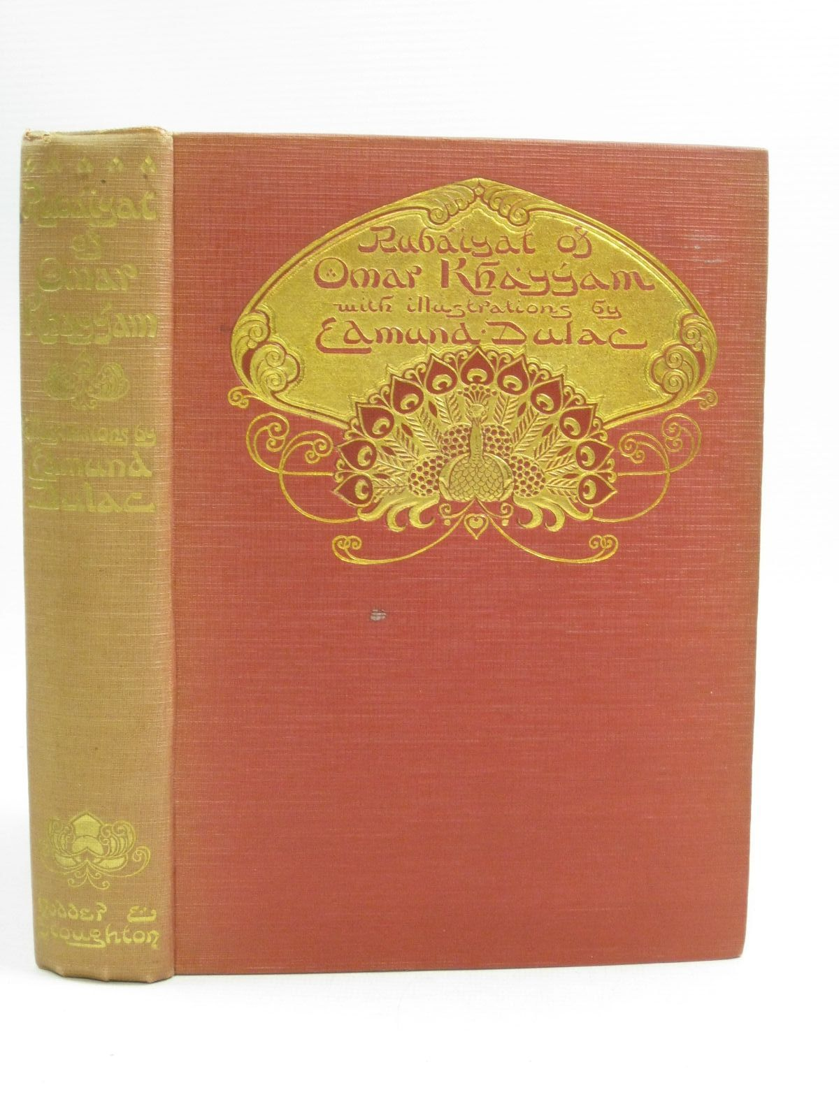Photo of RUBAIYAT OF OMAR KHAYYAM written by Fitzgerald, Edward illustrated by Dulac, Edmund published by Hodder & Stoughton (STOCK CODE: 1404746)  for sale by Stella & Rose's Books