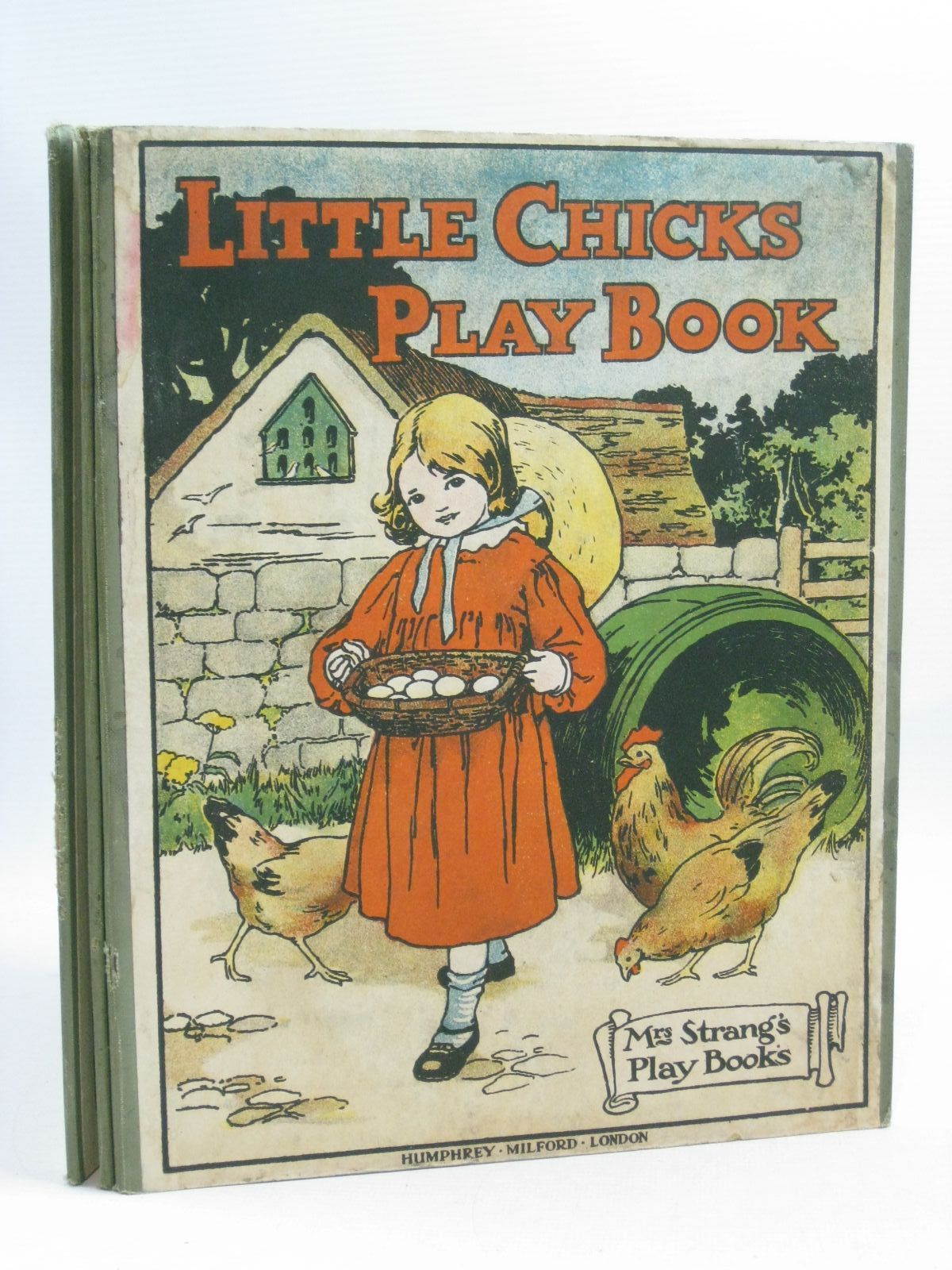 Photo of LITTLE CHICKS PLAY BOOK written by Strang, Mrs. Herbert illustrated by Rees, E. Dorothy<br />Sowerby, Millicent<br />Anderson, Anne<br />et al., published by Humphrey Milford (STOCK CODE: 1404750)  for sale by Stella & Rose's Books