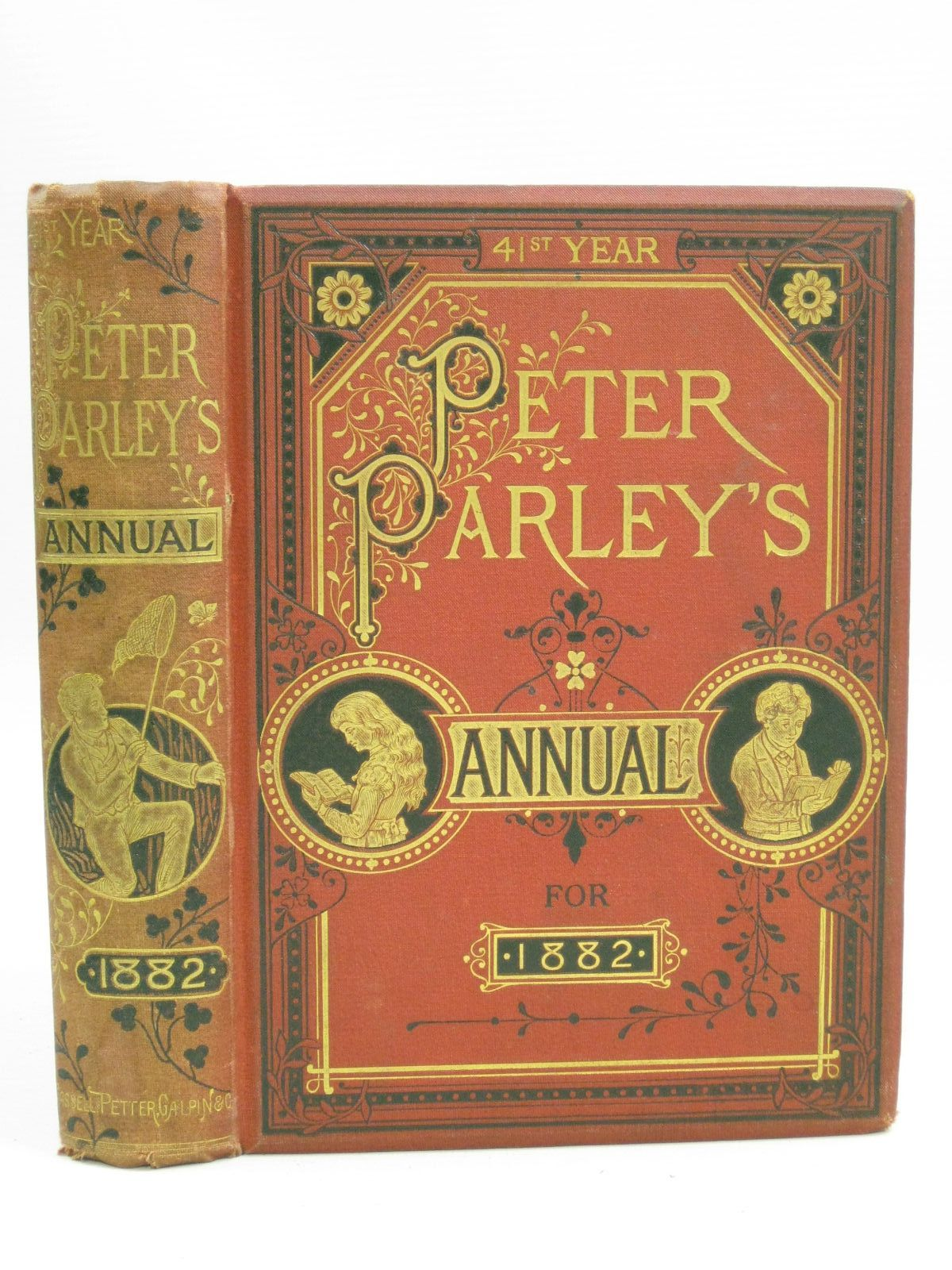 Photo of PETER PARLEY'S ANNUAL FOR 1882 published by Cassell, Petter, Galpin & Co. (STOCK CODE: 1404761)  for sale by Stella & Rose's Books