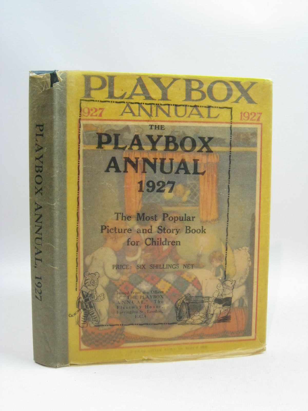 Photo of PLAYBOX ANNUAL 1927 illustrated by Bernard, C.E.B.<br />et al.,  published by The Amalgamated Press (STOCK CODE: 1404792)  for sale by Stella & Rose's Books