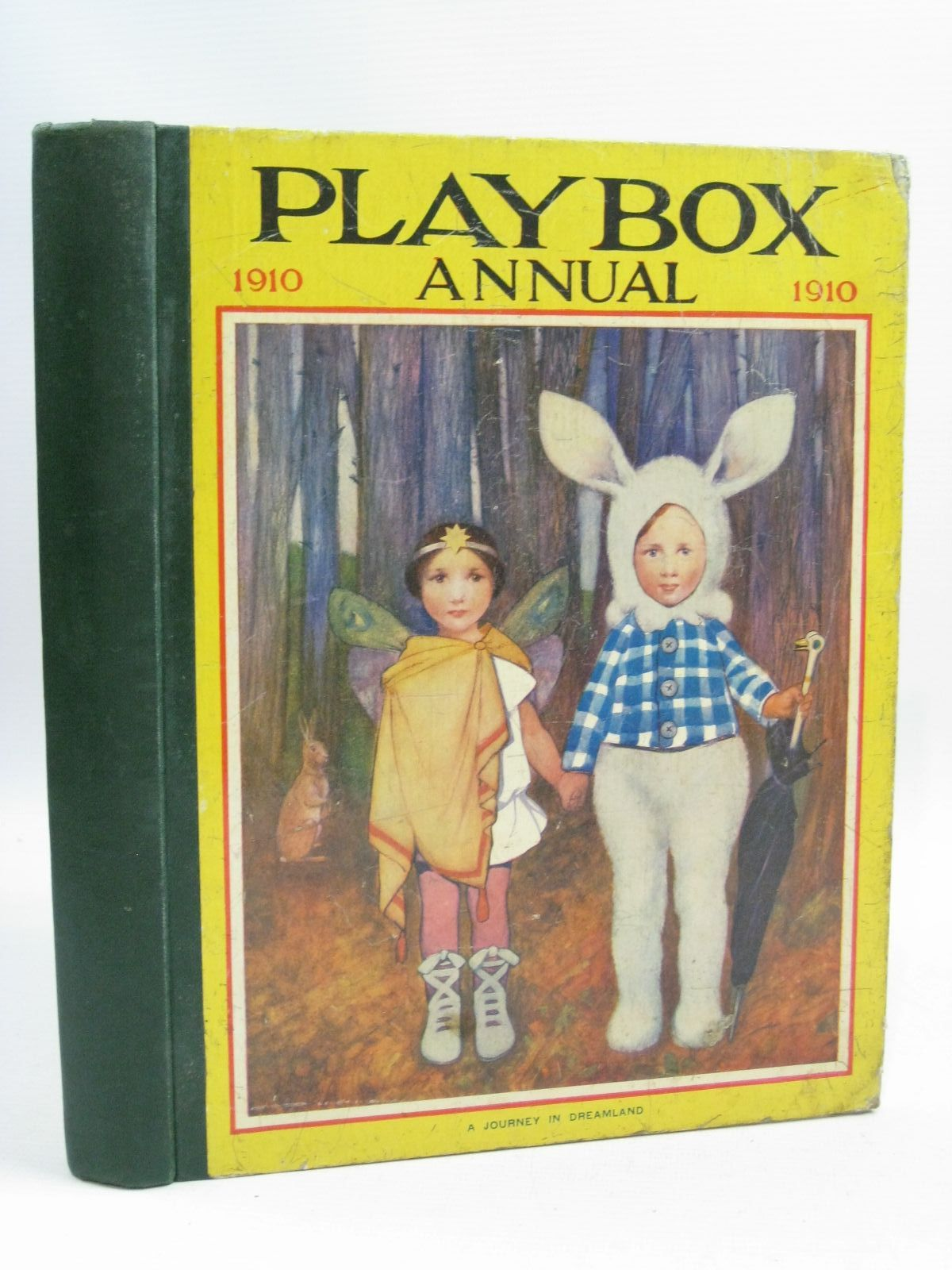 Photo of PLAYBOX ANNUAL 1910 illustrated by Wain, Louis<br />Attwell, Mabel Lucie<br />Cowham, Hilda<br />Pearse, S.B.<br />Folkard, Charles<br />et al., published by The Amalgamated Press (STOCK CODE: 1404794)  for sale by Stella & Rose's Books