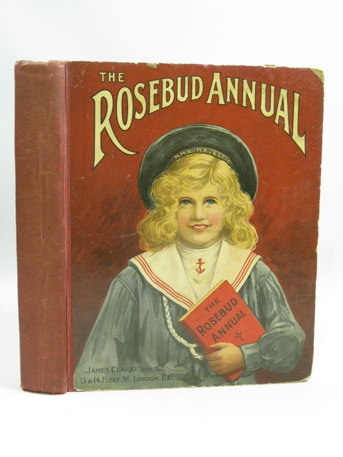 Photo of THE ROSEBUD ANNUAL VOLUME XXVIII illustrated by Wain, Louis<br />Neilson, Harry B.<br />et al., published by James Clarke & Co. (STOCK CODE: 1404795)  for sale by Stella & Rose's Books