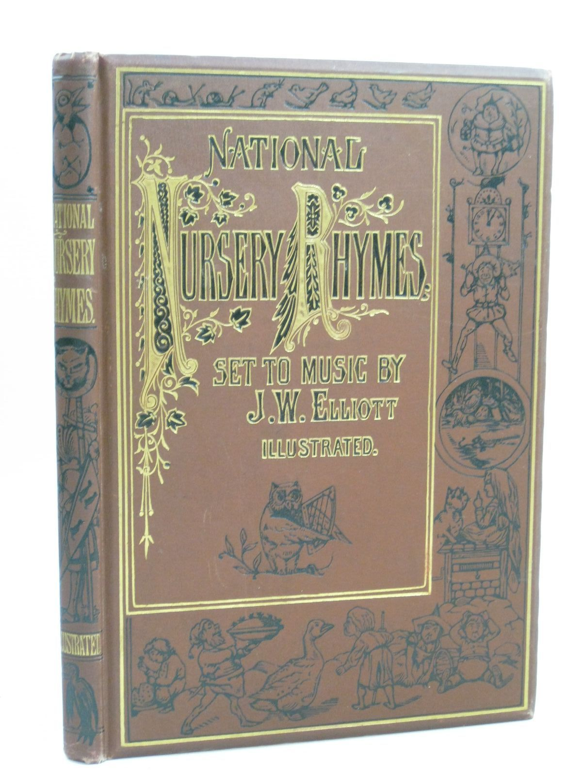 Photo of NATIONAL NURSERY RHYMES AND NURSERY SONGS written by Elliott, J.W. illustrated by Dalziel Brothers,  published by Novello & Company Ltd. (STOCK CODE: 1404796)  for sale by Stella & Rose's Books