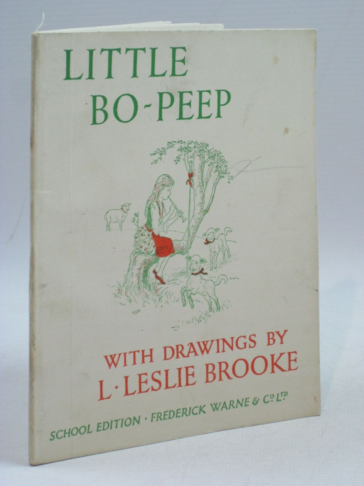 Photo of LITTLE BO-PEEP illustrated by Brooke, L. Leslie published by Frederick Warne & Co Ltd. (STOCK CODE: 1404806)  for sale by Stella & Rose's Books