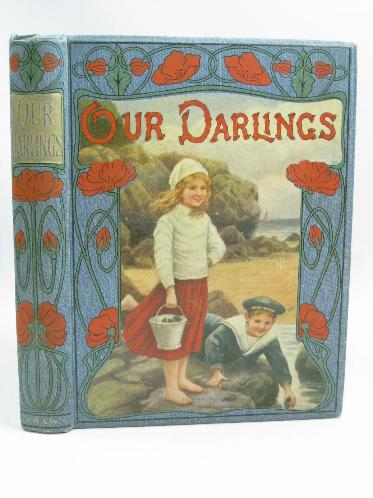 Photo of OUR DARLINGS written by Adams, W. Davenport<br />Shaw, Catharine illustrated by Farmiloe, Edith<br />Neilson, Harry B.<br />Wain, Louis published by John F. Shaw (STOCK CODE: 1404833)  for sale by Stella & Rose's Books