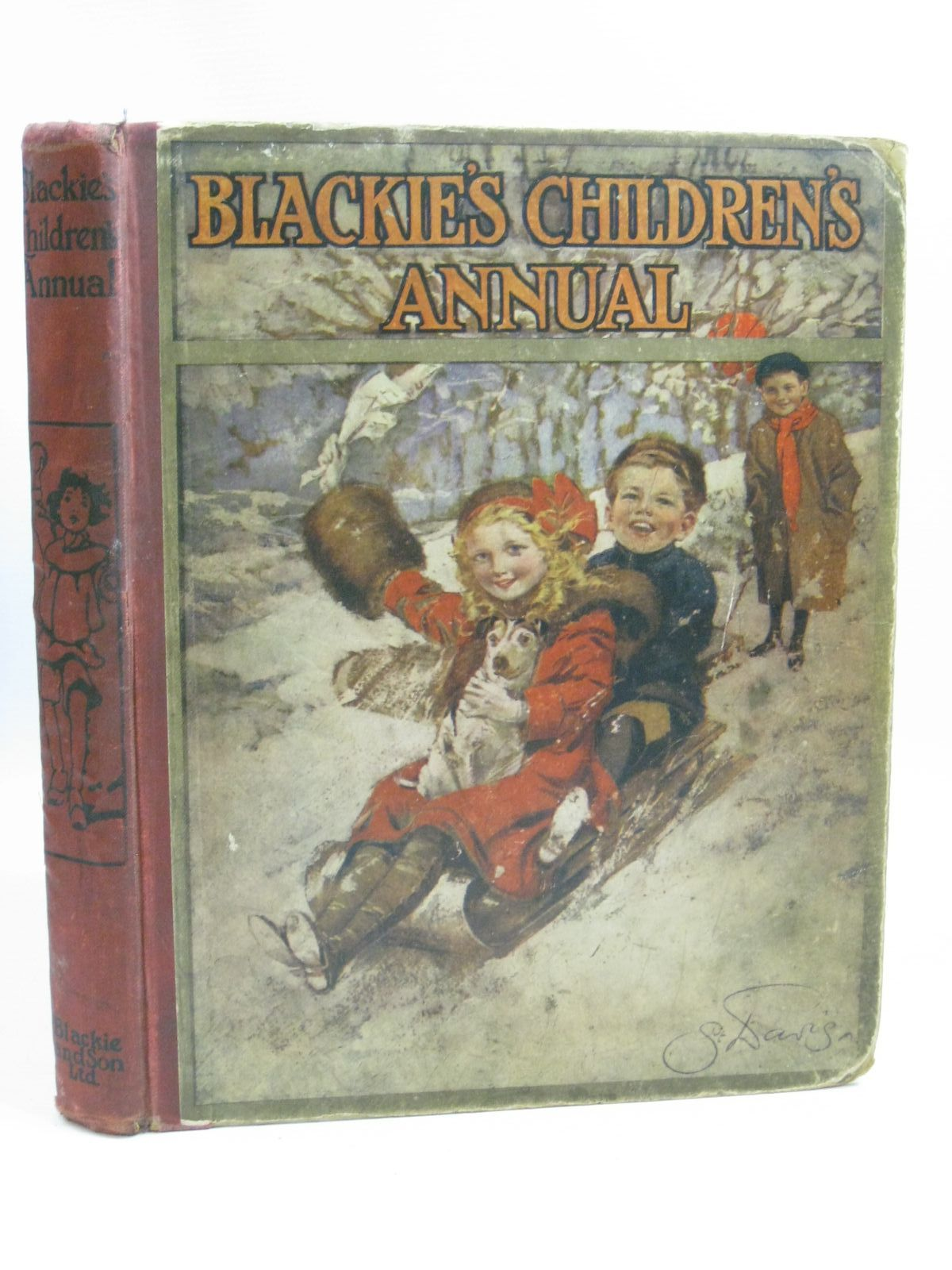 Photo of BLACKIE'S CHILDREN'S ANNUAL 1912 written by Wilson, Theodora Wilson<br />Bingham, Clifton<br />Byron, May illustrated by Harrison, Florence<br />Stratton, Helen<br />Woodward, Alice B.<br />Anderson, Anne<br />et al.,  published by Blackie & Son Ltd. (STOCK CODE: 1404842)  for sale by Stella & Rose's Books