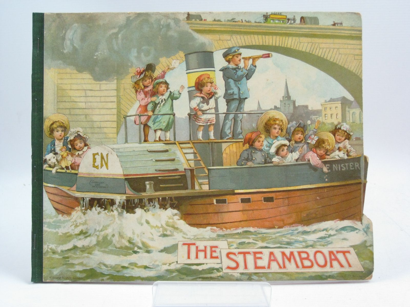 Photo of THE STEAMBOAT written by Gillington, M.C.<br />C.B.,<br />et al, published by Ernest Nister, E.P. Dutton & Co. (STOCK CODE: 1404862)  for sale by Stella & Rose's Books