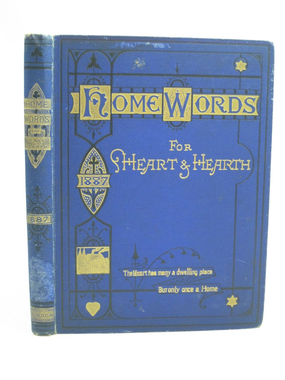 Photo of HOME WORDS FOR HEART AND HEARTH written by Bullock, Charles published by Home Words Publishing Office (STOCK CODE: 1404879)  for sale by Stella & Rose's Books