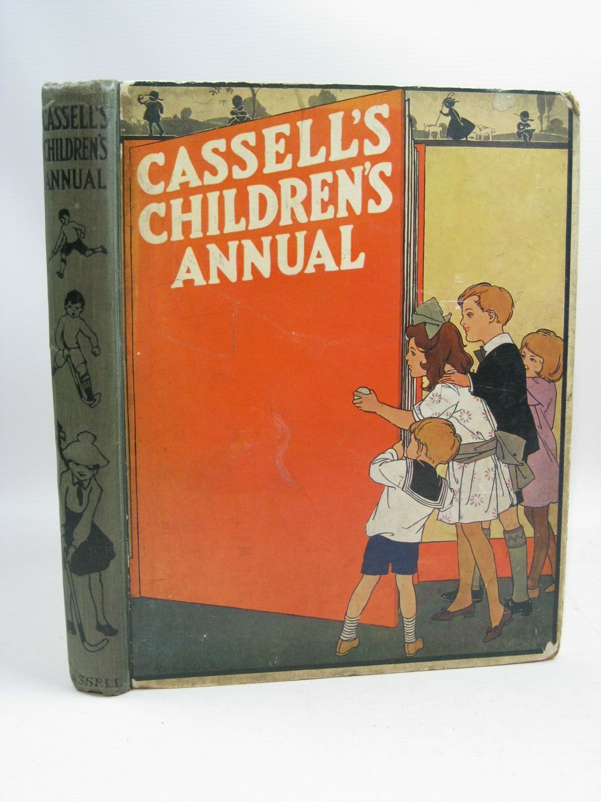 Photo of CASSELL'S CHILDREN'S ANNUAL written by Applin, Arthur<br />Hayes, Nancy M.<br />Chaundler, Christine<br />Herbertson, Agnes Grozier<br />Wood, Eric<br />et al, illustrated by Attwell, Mabel Lucie<br />Anderson, Florence Mary<br />Rees, E. Dorothy<br />et al., published by Cassell & Co. Ltd. (STOCK CODE: 1404898)  for sale by Stella & Rose's Books