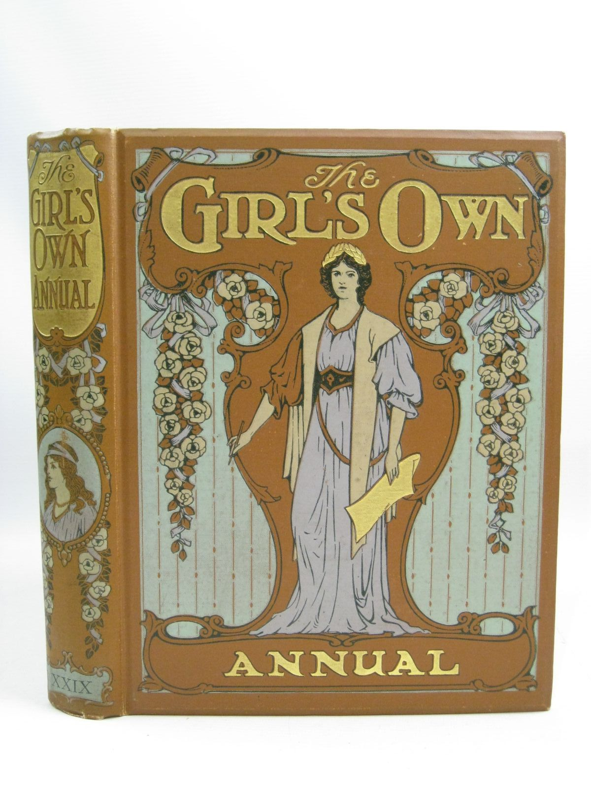 Photo of THE GIRL'S OWN ANNUAL VOL XXIX written by Vaizey, Mrs. George De Horne<br />Stables, Gordon<br />Crommelin, May<br />et al, illustrated by Jessop, Ernest M.<br />Copping, Harold<br />Prout, Victor<br />et al., published by Girl's Own Paper (STOCK CODE: 1404900)  for sale by Stella & Rose's Books