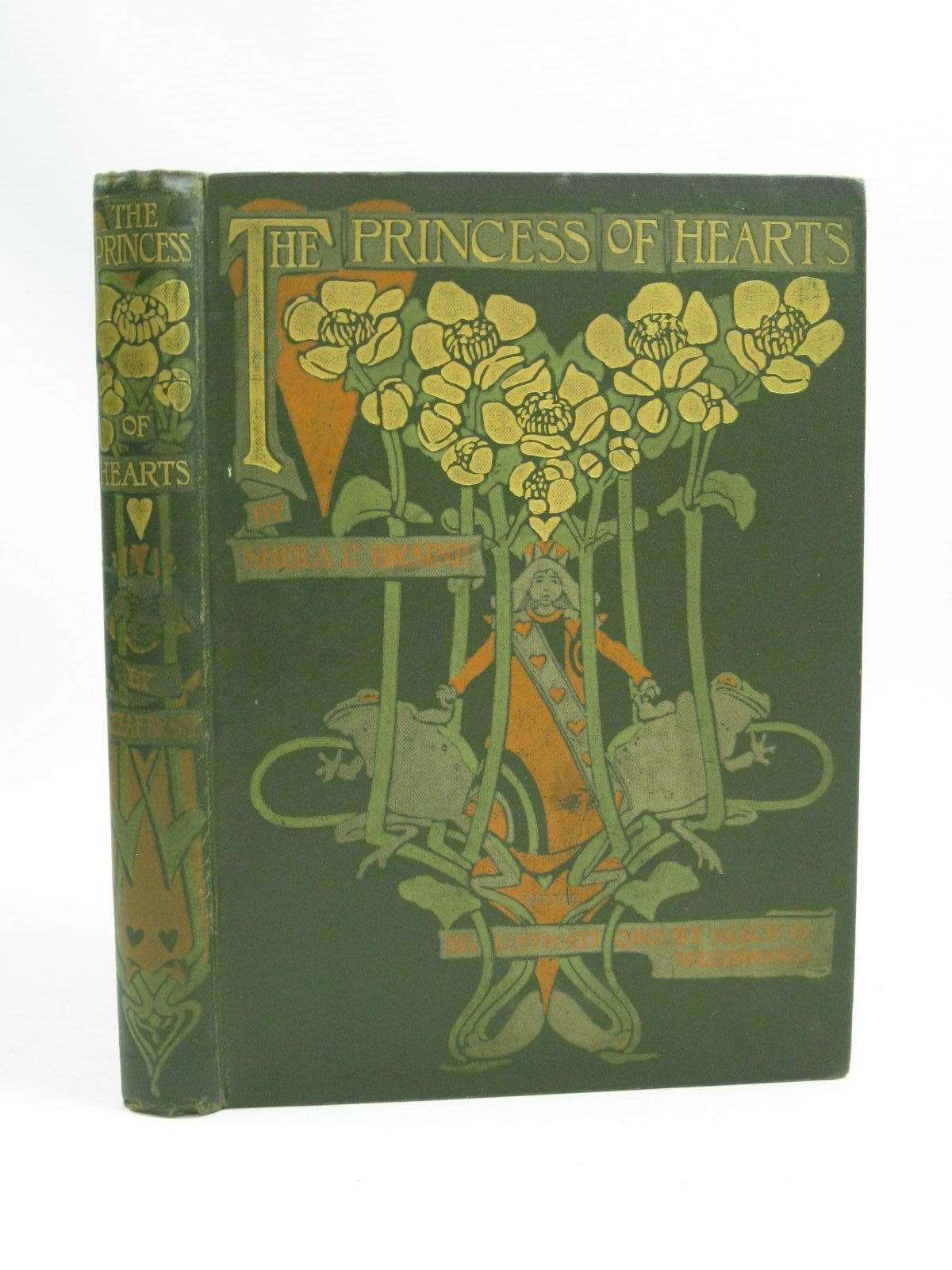 Photo of THE PRINCESS OF HEARTS written by Braine, Sheila E. illustrated by Woodward, Alice B. published by Blackie & Son Ltd. (STOCK CODE: 1404916)  for sale by Stella & Rose's Books