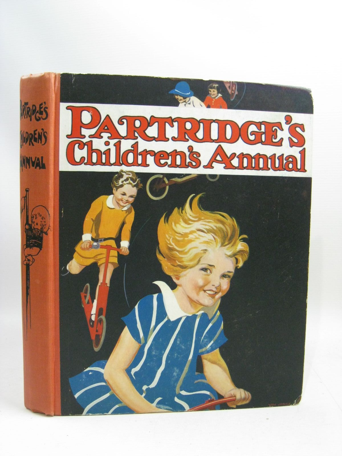 Photo of PARTRIDGE'S CHILDREN'S ANNUAL - 18TH YEAR written by Rutley, Cecily M.<br />Lea, John<br />Whitaker, Evelyn<br />et al, illustrated by Neilson, Harry B.<br />Brisley, Nina K.<br />Anderson, Florence Mary<br />Lambert, H.G.C. Marsh<br />et al., published by Partridge (STOCK CODE: 1404919)  for sale by Stella & Rose's Books