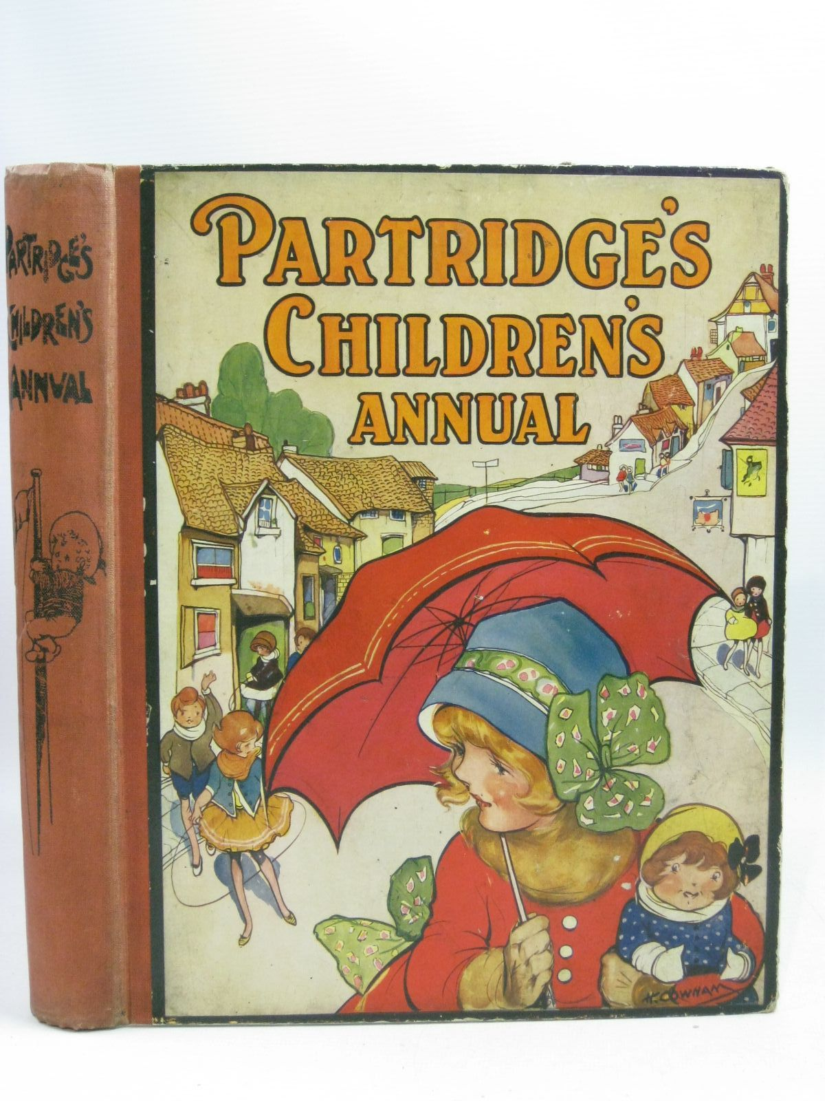 Photo of PARTRIDGE'S CHILDREN'S ANNUAL - 17TH YEAR written by Rutley, Cecily M.<br />Clifford, Maurice<br />Hunter, E.M. illustrated by Neilson, Harry B.<br />Aris, Ernest A.<br />Venus, Sylvia<br />Brisley, Nina K.<br />et al., published by Partridge (STOCK CODE: 1404920)  for sale by Stella & Rose's Books