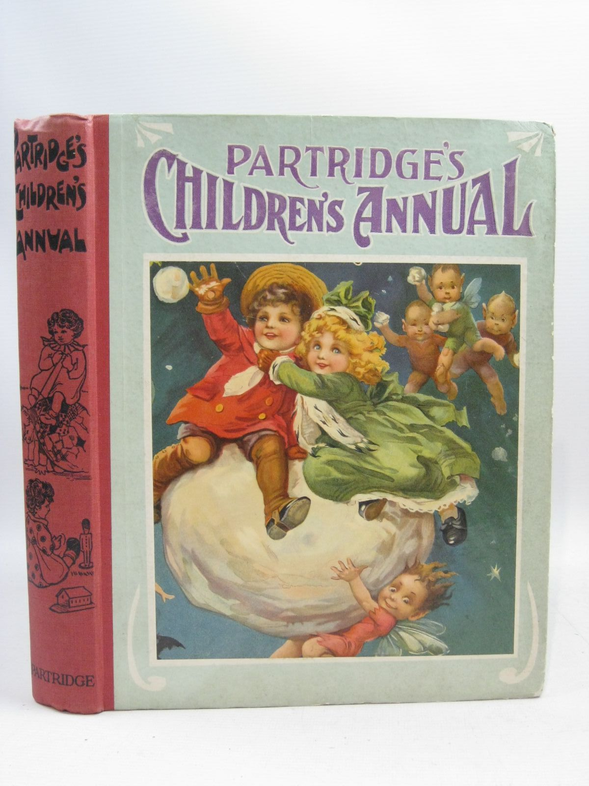 Photo of PARTRIDGE'S CHILDREN'S ANNUAL written by Moore, Dorothea<br />Talbot, Ethel<br />Scott-Hopper, Queenie illustrated by Wain, Louis<br />Brisley, Joyce Lankester<br />Marsh, H.G.C.<br />et al., published by S.W. Partridge & Co. Ltd. (STOCK CODE: 1404924)  for sale by Stella & Rose's Books