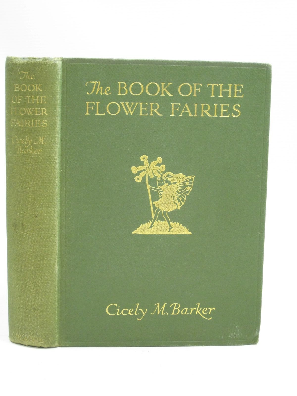 Photo of THE BOOK OF THE FLOWER FAIRIES written by Barker, Cicely Mary illustrated by Barker, Cicely Mary published by Blackie & Son Ltd. (STOCK CODE: 1404931)  for sale by Stella & Rose's Books